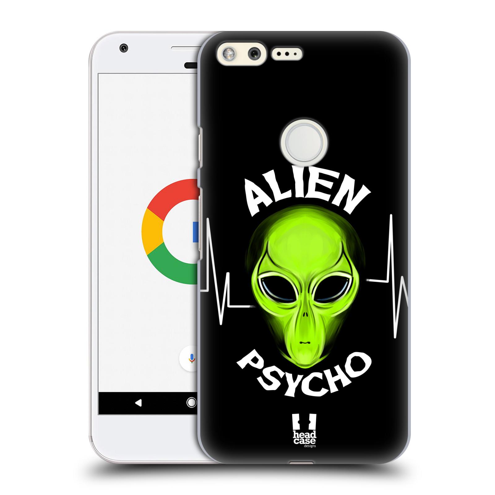 Plastové pouzdro na mobil Google Pixel HEAD CASE ALIENS PSYCHO