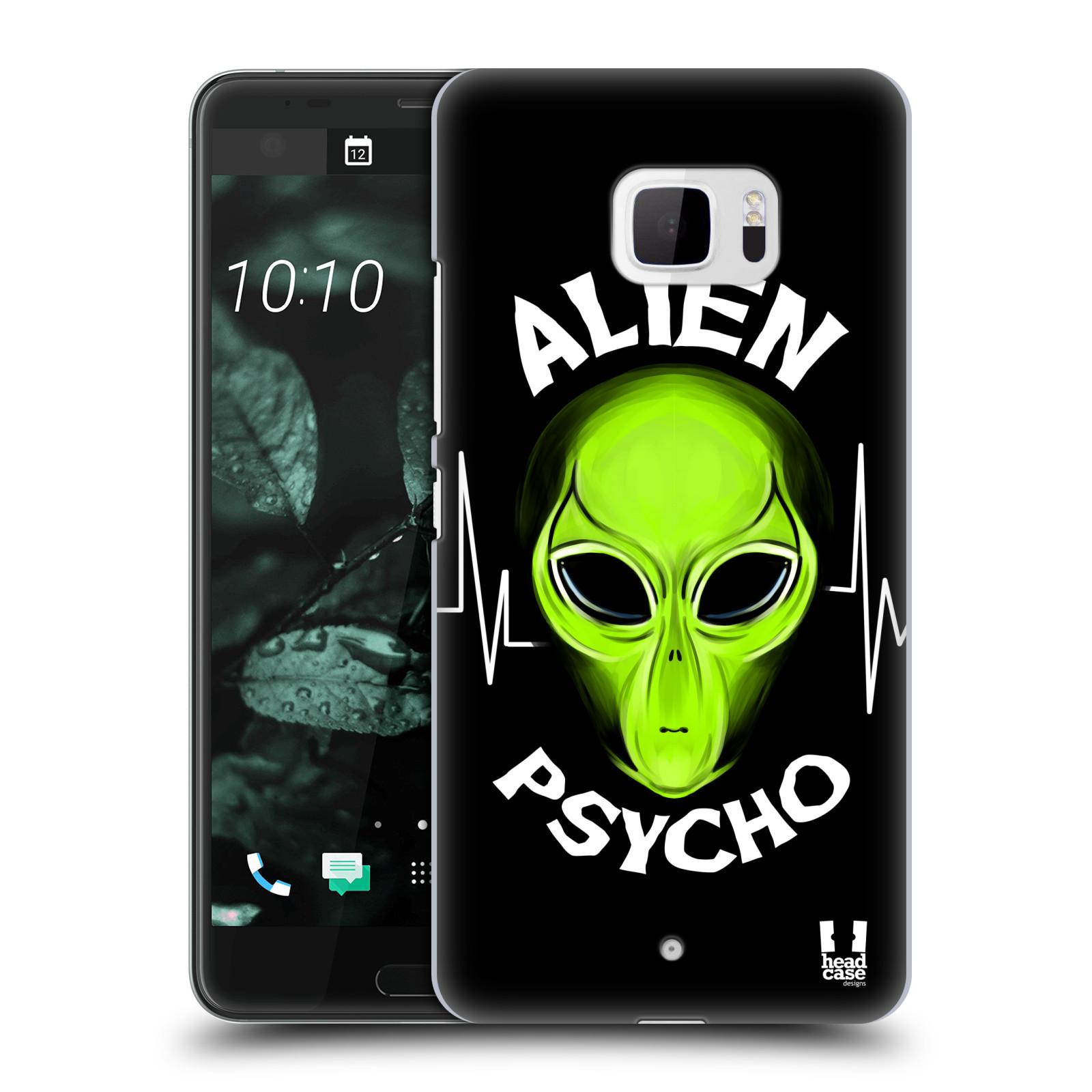 Plastové pouzdro na mobil HTC U Ultra Head Case - ALIENS PSYCHO