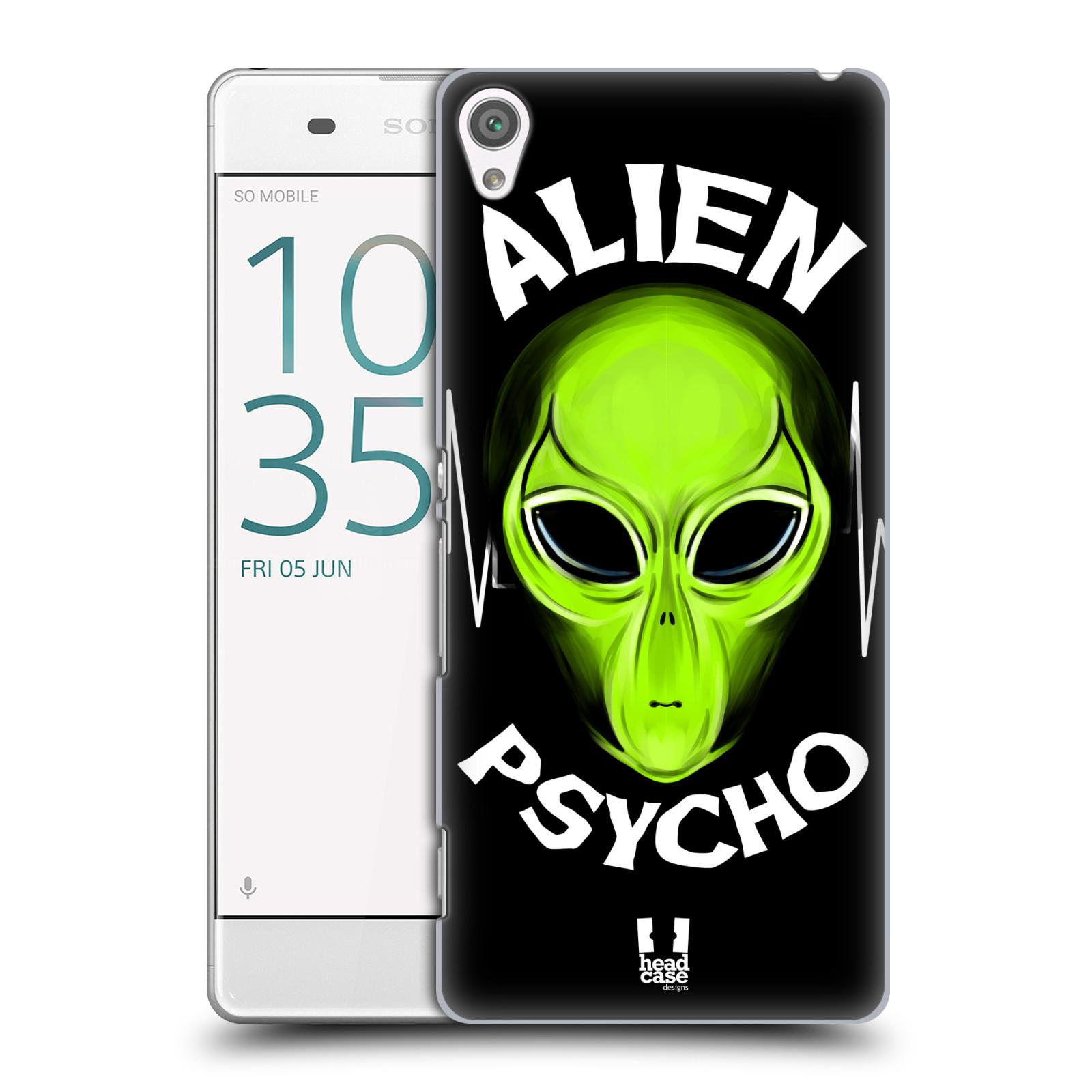 Plastové pouzdro na mobil Sony Xperia XA HEAD CASE ALIENS PSYCHO
