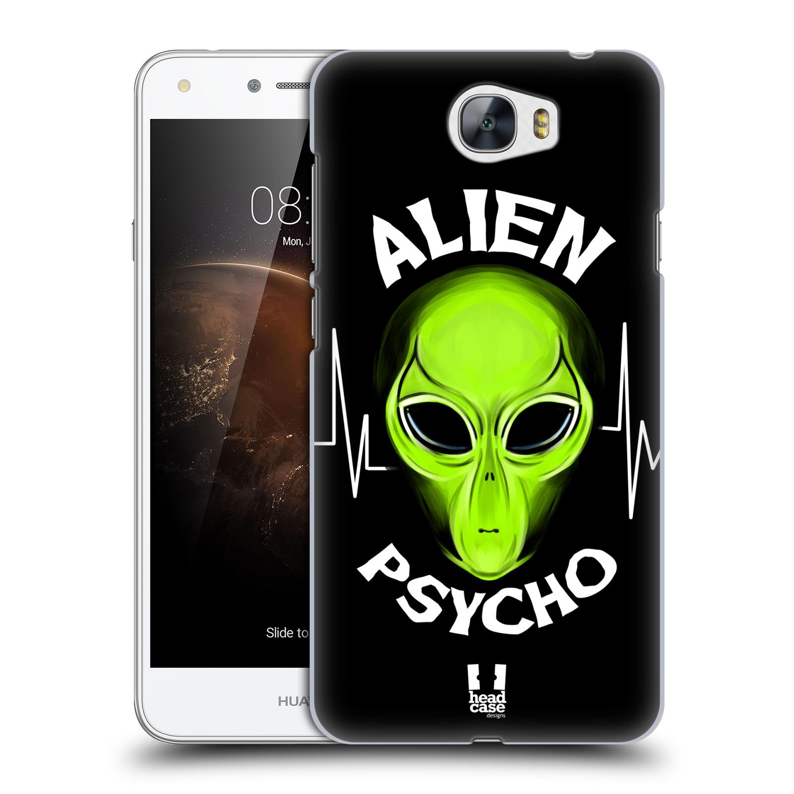 Plastové pouzdro na mobil Huawei Y5 II HEAD CASE ALIENS PSYCHO