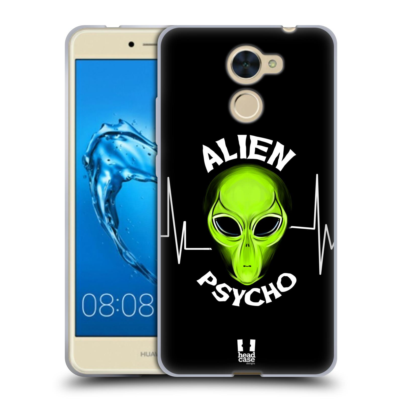 Silikonové pouzdro na mobil Huawei Y7 - Head Case - ALIENS PSYCHO