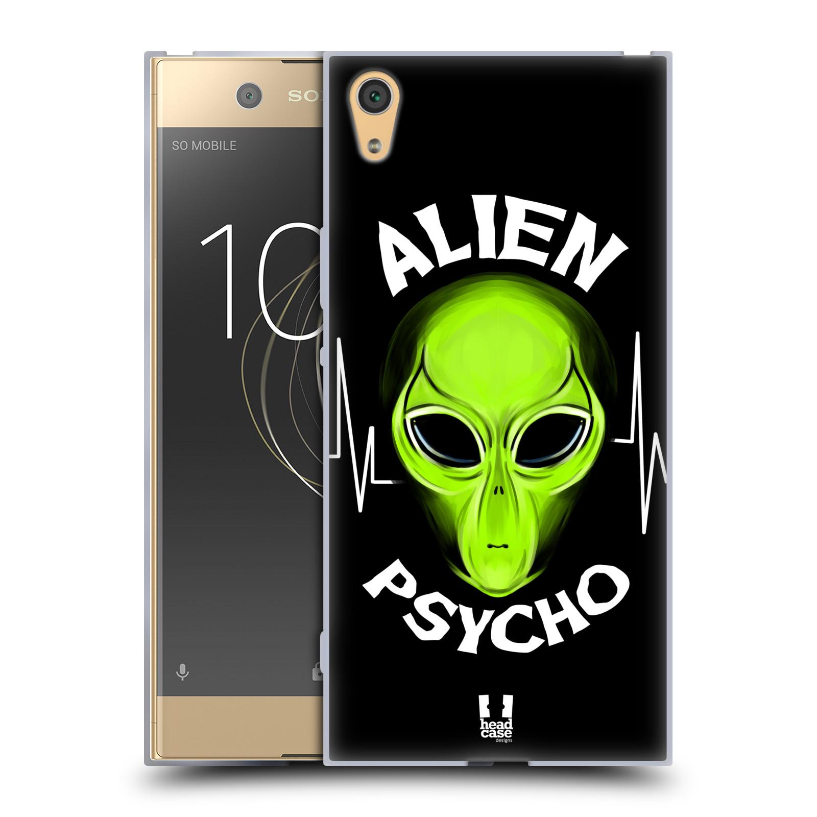 Silikonové pouzdro na mobil Sony Xperia XA1 Ultra - Head Case - ALIENS PSYCHO