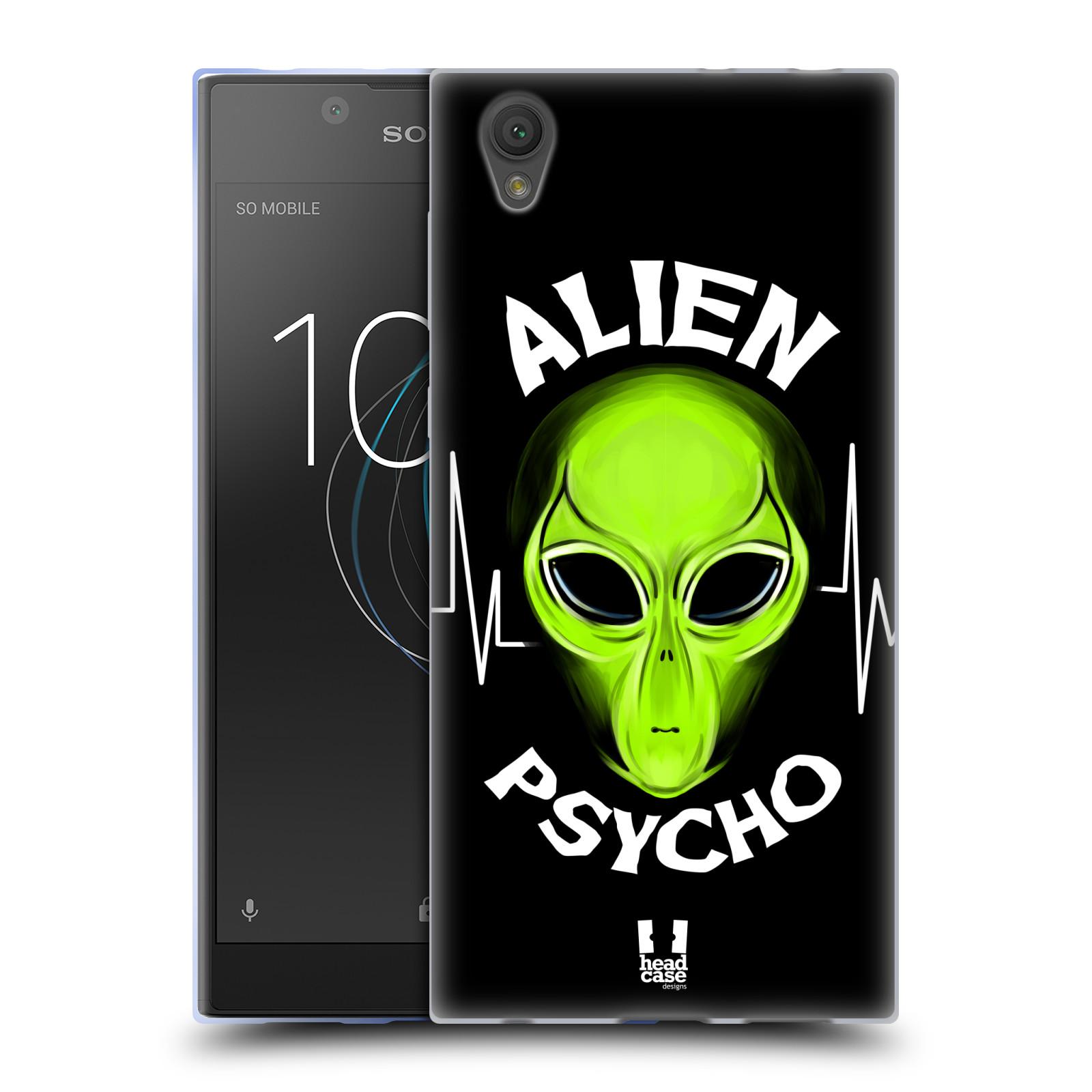 Silikonové pouzdro na mobil Sony Xperia L1 - Head Case - ALIENS PSYCHO