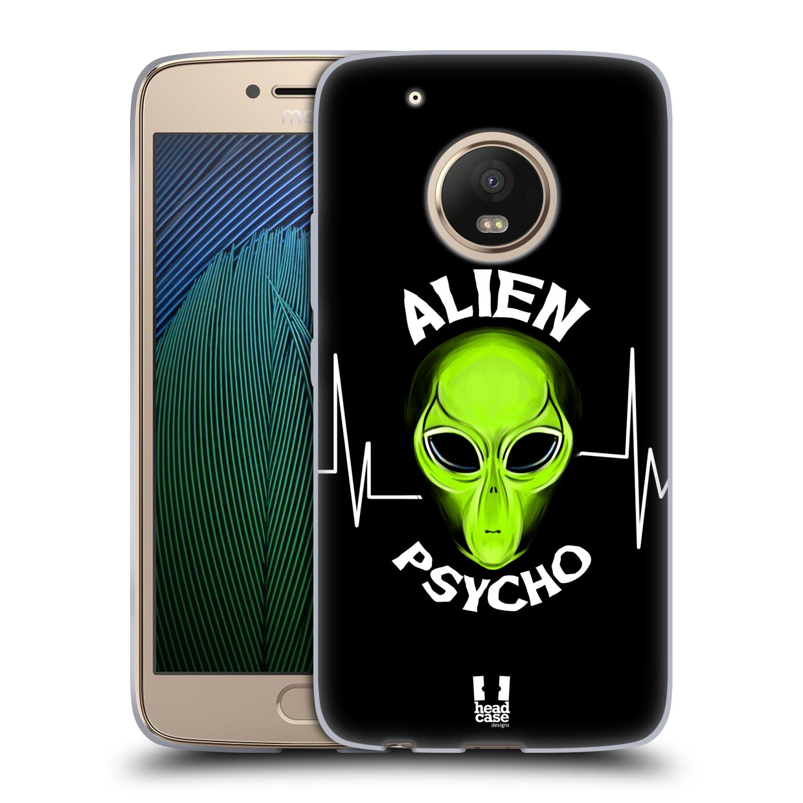 Silikonové pouzdro na mobil Lenovo Moto G5 Plus - Head Case ALIENS PSYCHO