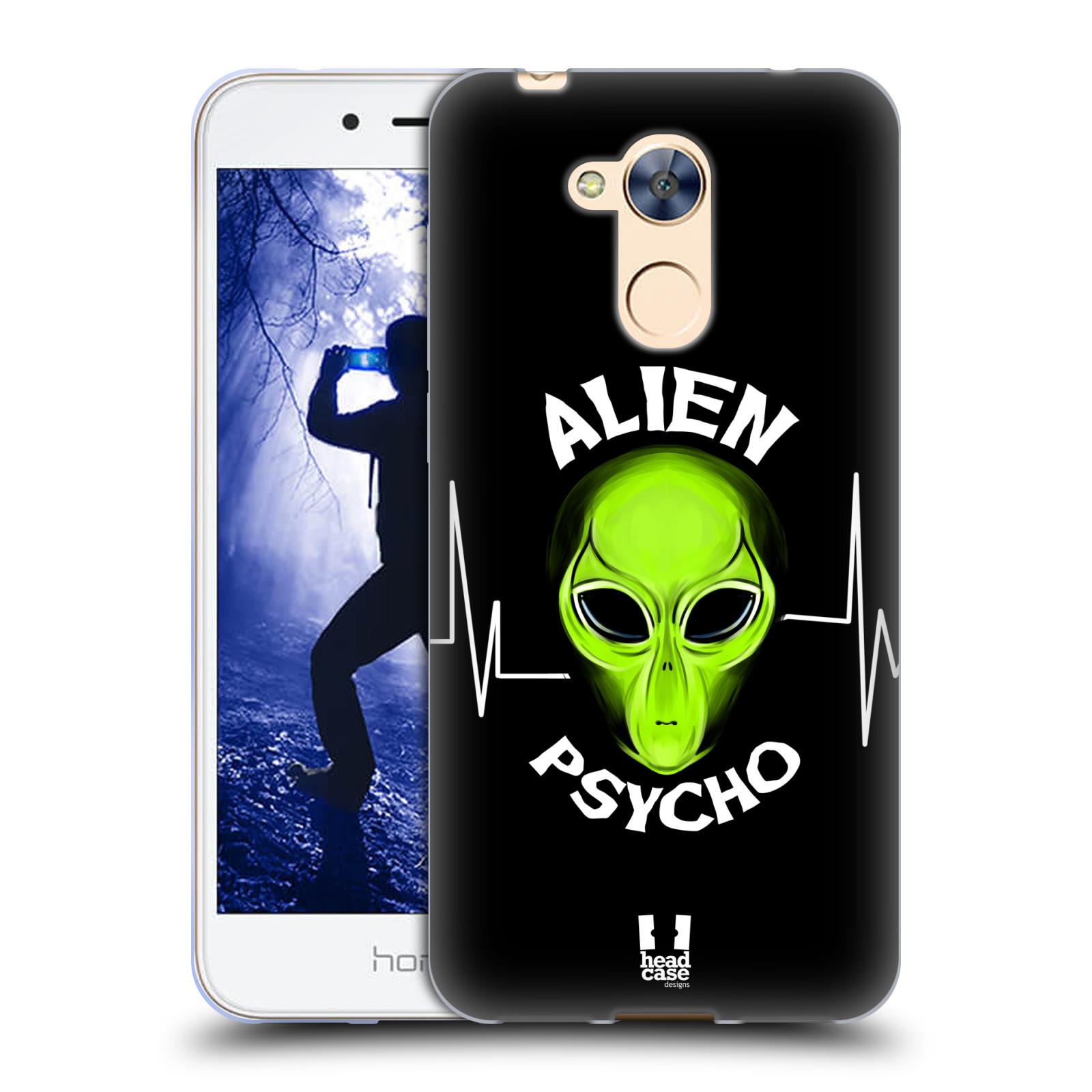 Silikonové pouzdro na mobil Honor 6A - Head Case - ALIENS PSYCHO