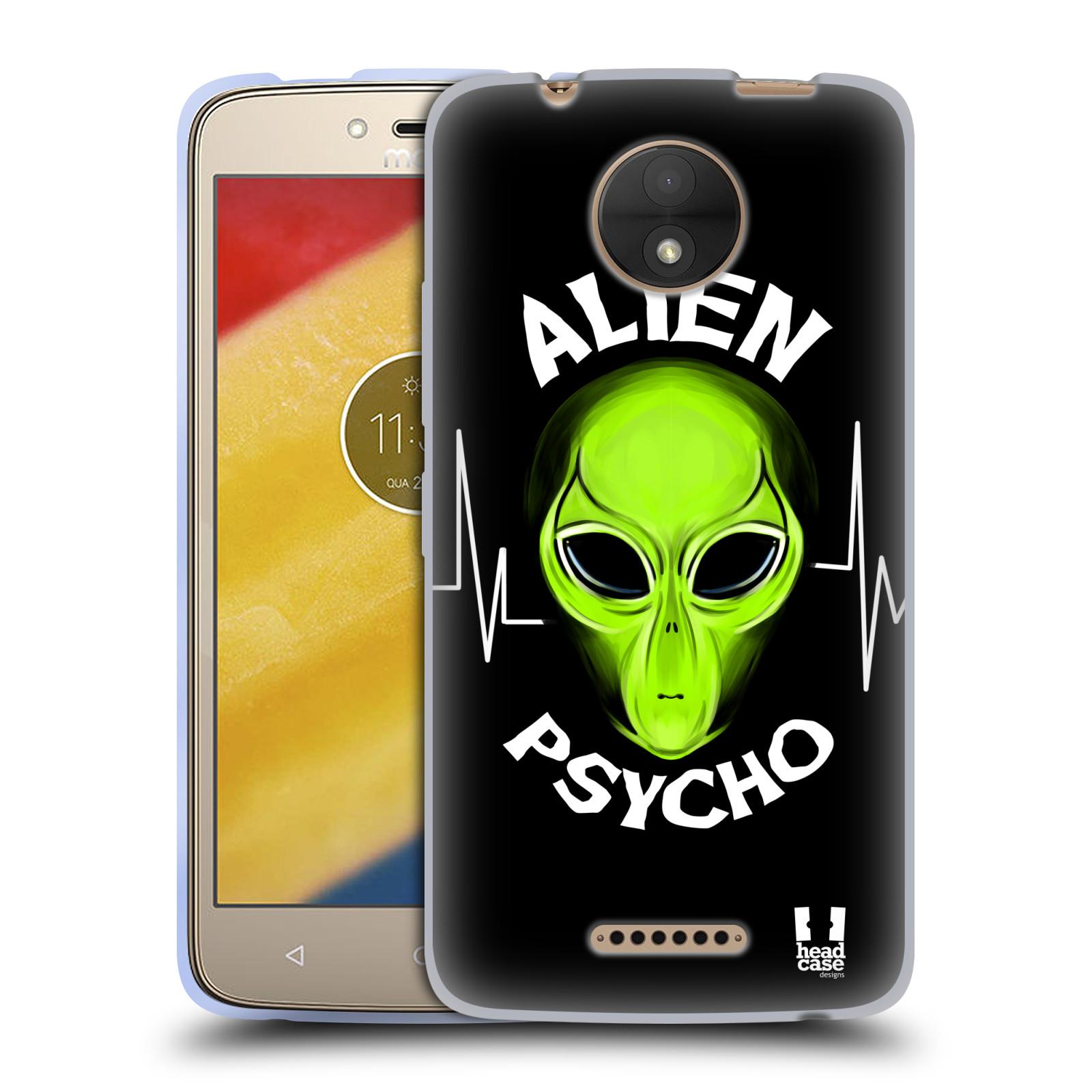 Silikonové pouzdro na mobil Lenovo Moto C - Head Case - ALIENS PSYCHO