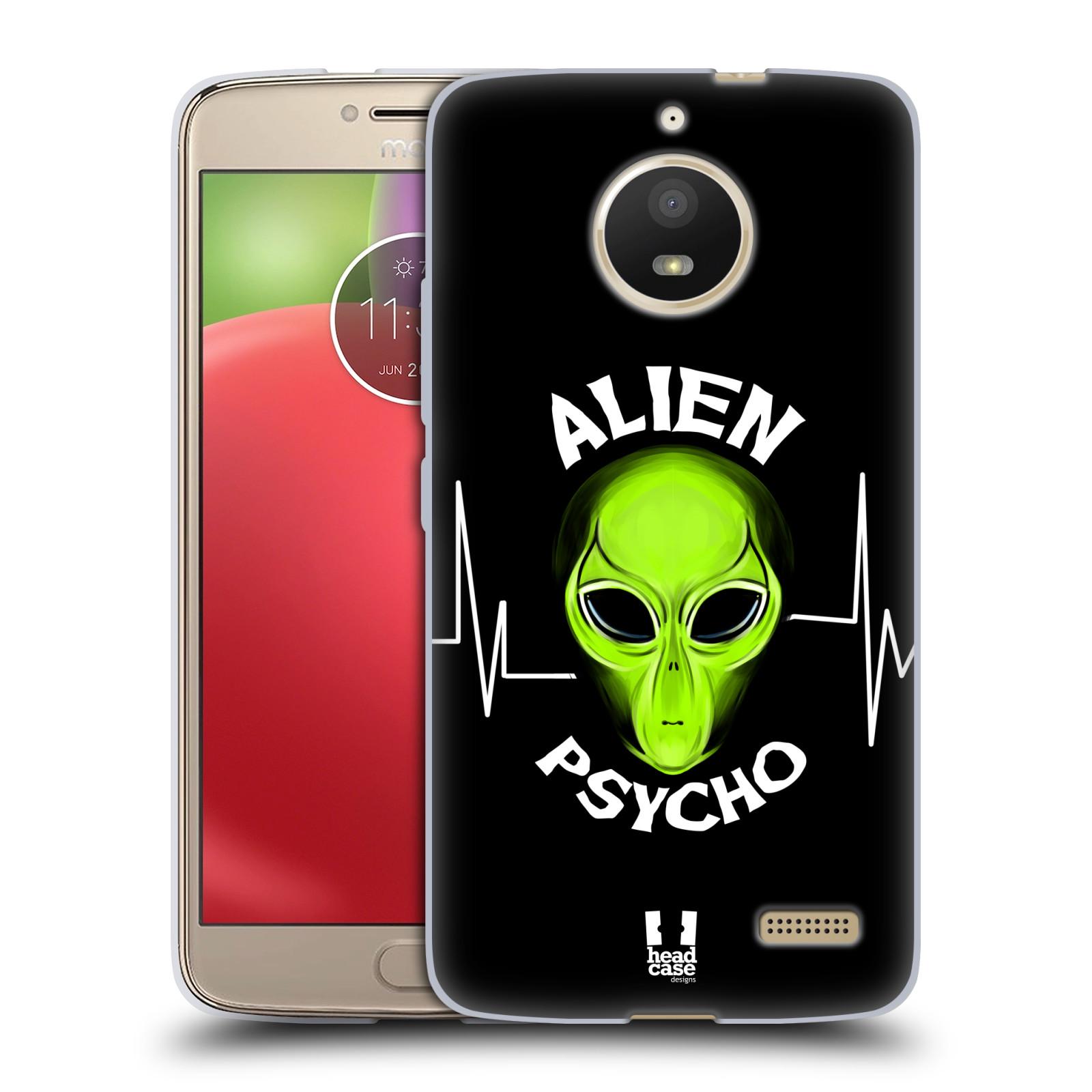Silikonové pouzdro na mobil Lenovo Moto E4 - Head Case - ALIENS PSYCHO