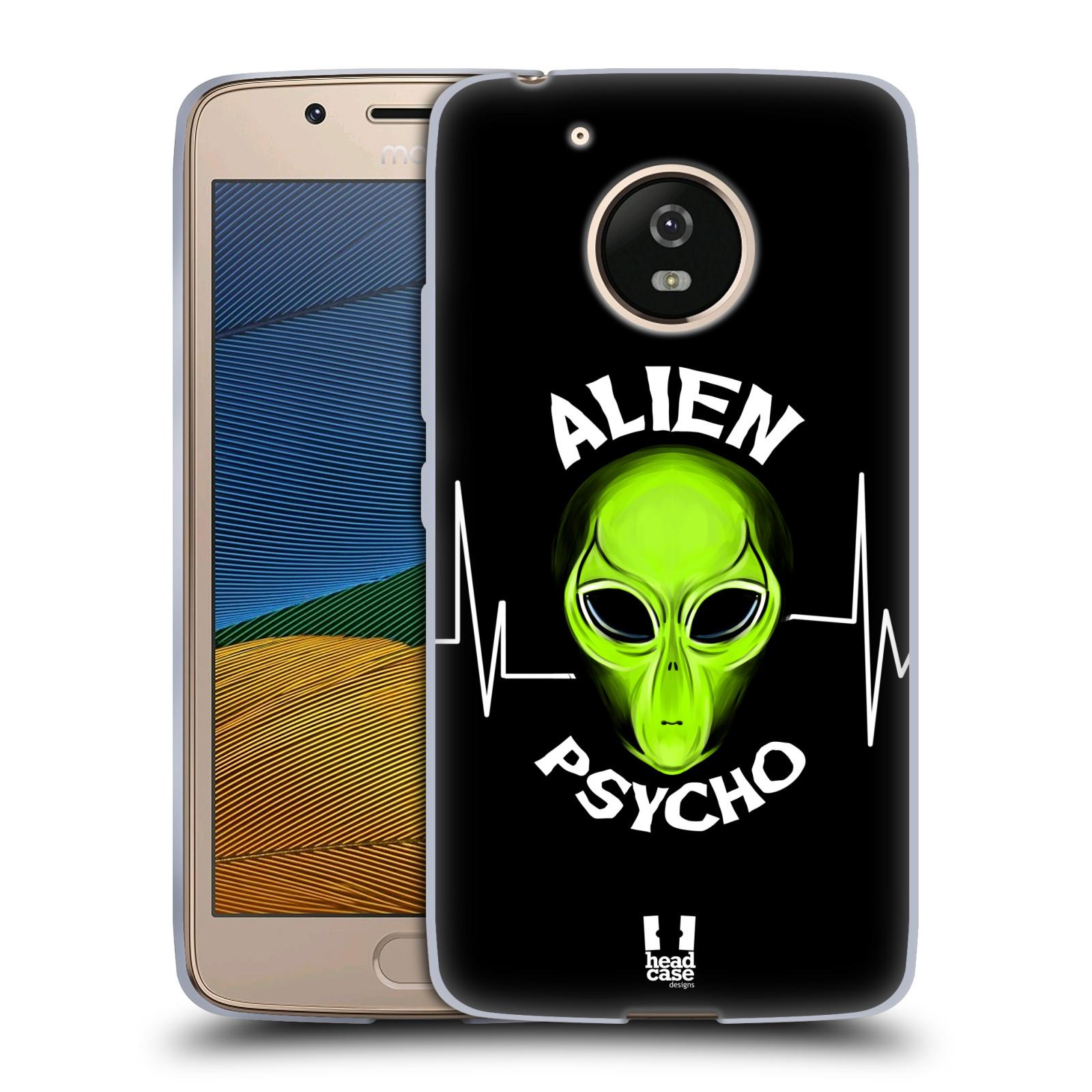 Silikonové pouzdro na mobil Lenovo Moto G5 - Head Case ALIENS PSYCHO