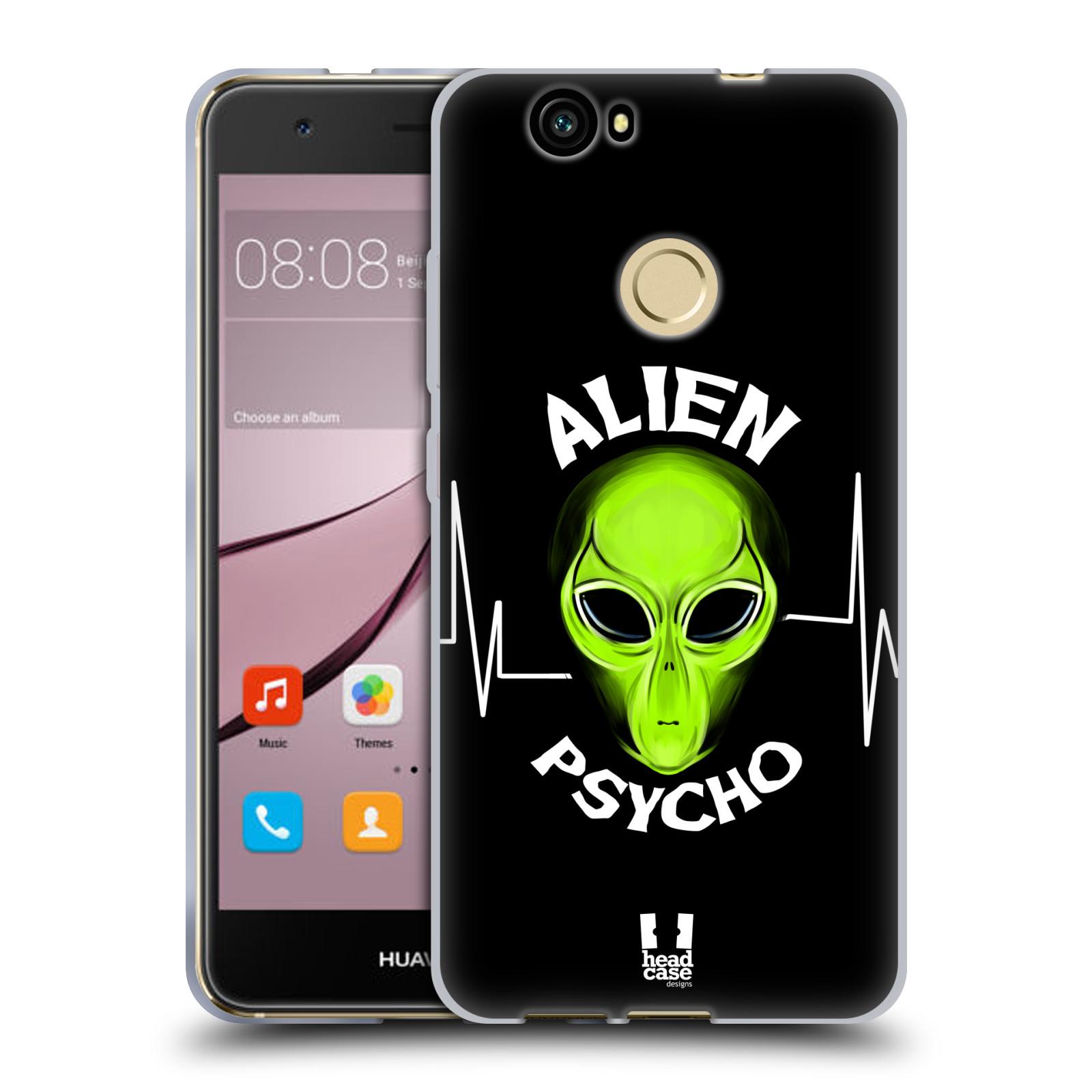 Silikonové pouzdro na mobil Huawei Nova - Head Case - ALIENS PSYCHO