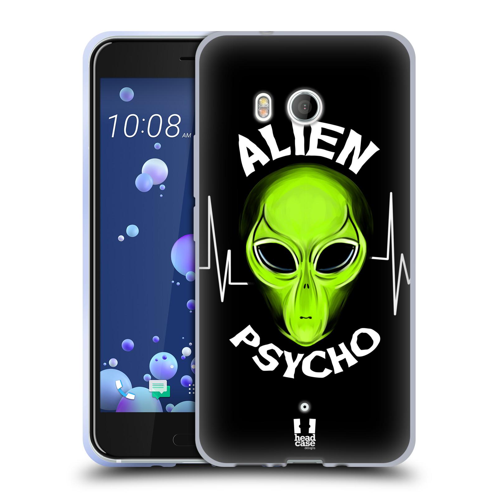 Silikonové pouzdro na mobil HTC U11 - Head Case - ALIENS PSYCHO