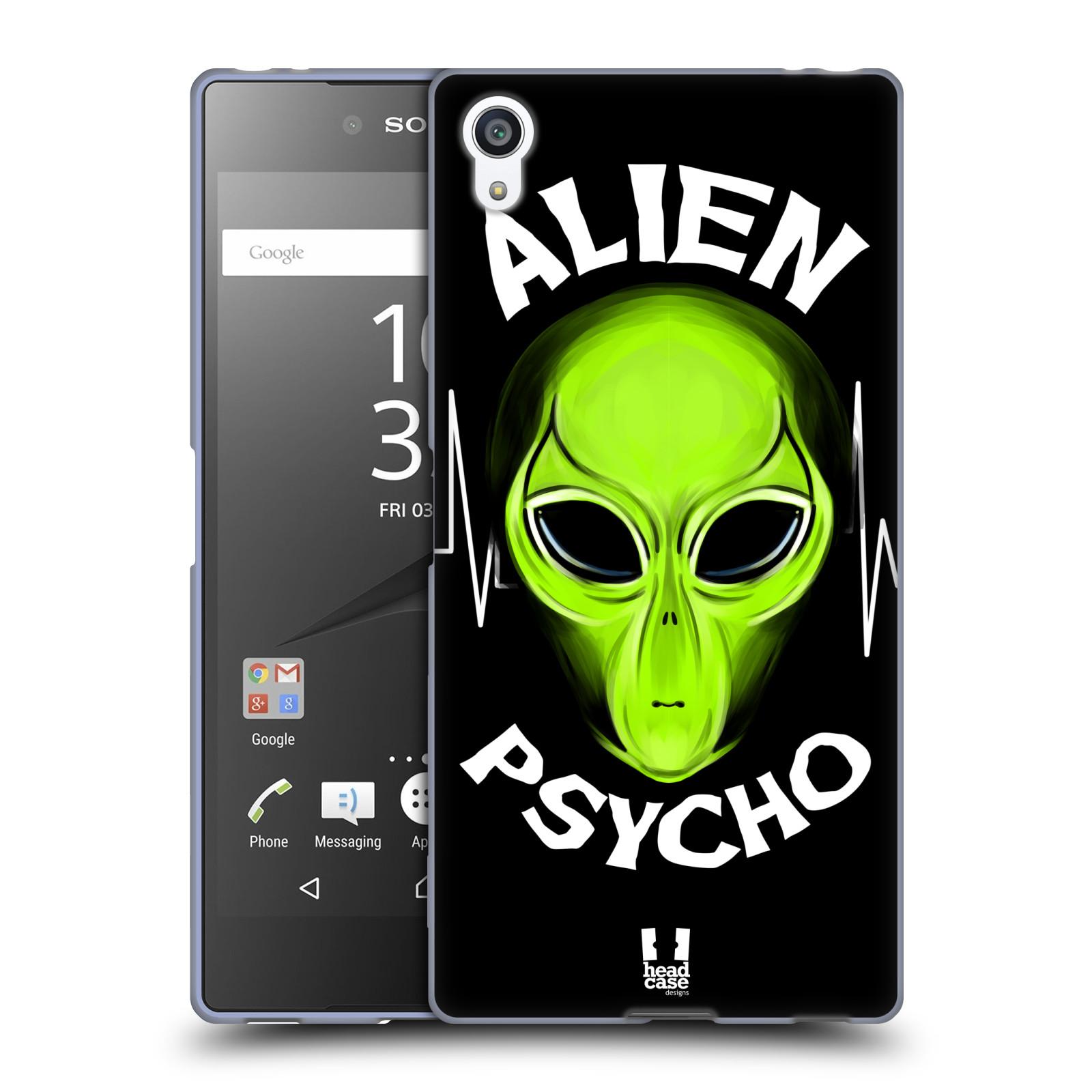 Silikonové pouzdro na mobil Sony Xperia Z5 Premium HEAD CASE ALIENS PSYCHO
