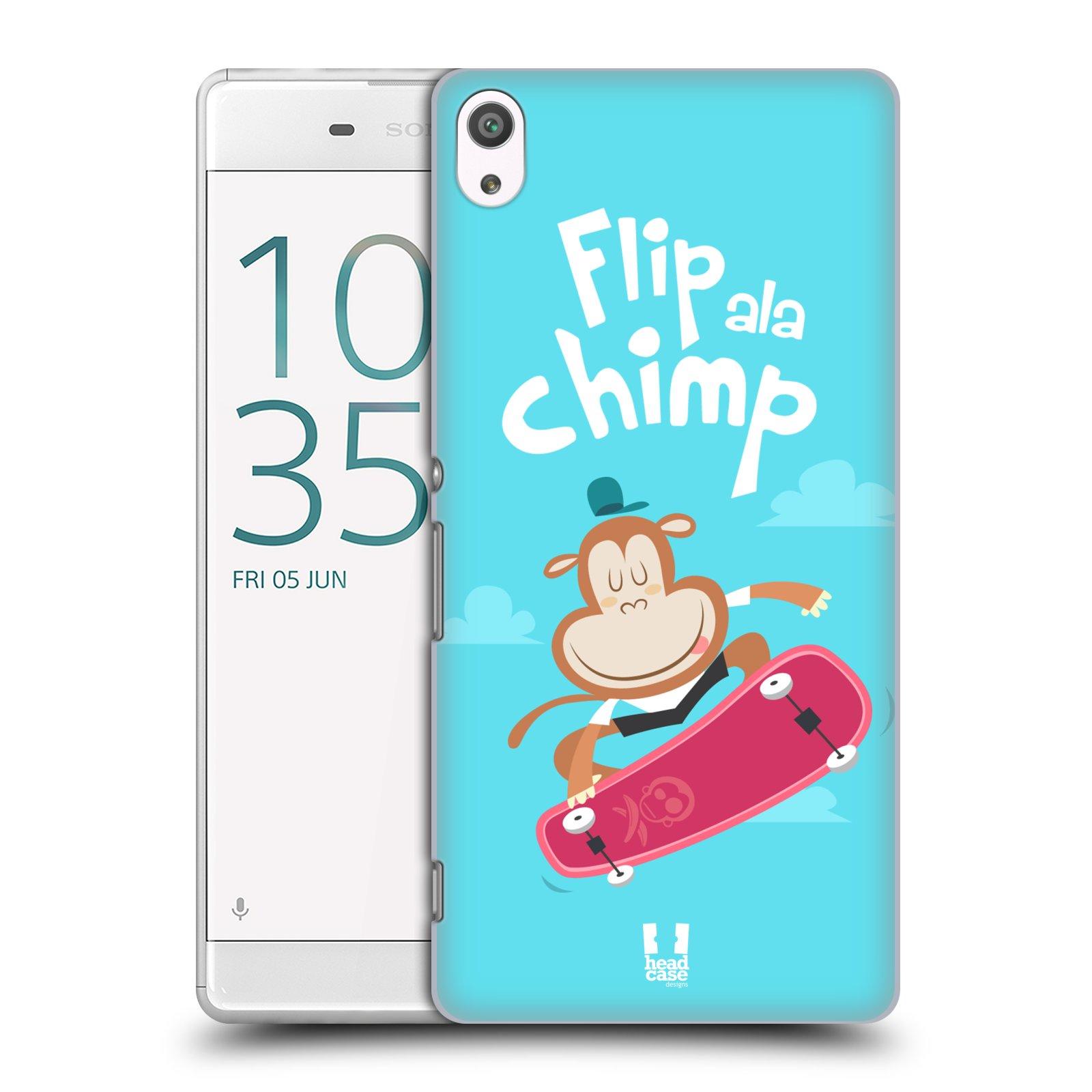 Plastové pouzdro na mobil Sony Xperia XA Ultra HEAD CASE SPORTOVEC OPIČÁK