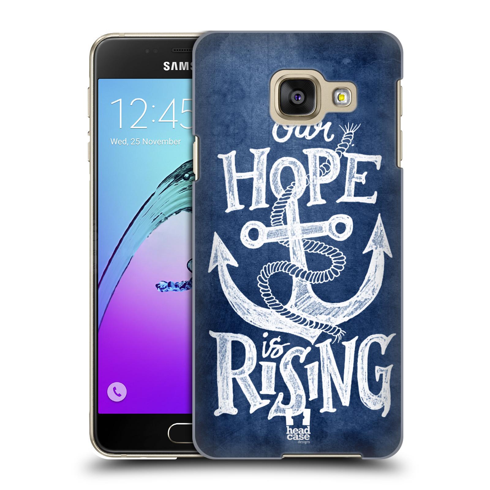 Plastové pouzdro na mobil Samsung Galaxy A3 (2016) HEAD CASE KOTVA RISING