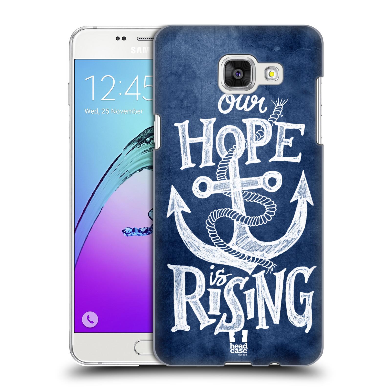 Plastové pouzdro na mobil Samsung Galaxy A5 (2016) HEAD CASE KOTVA RISING