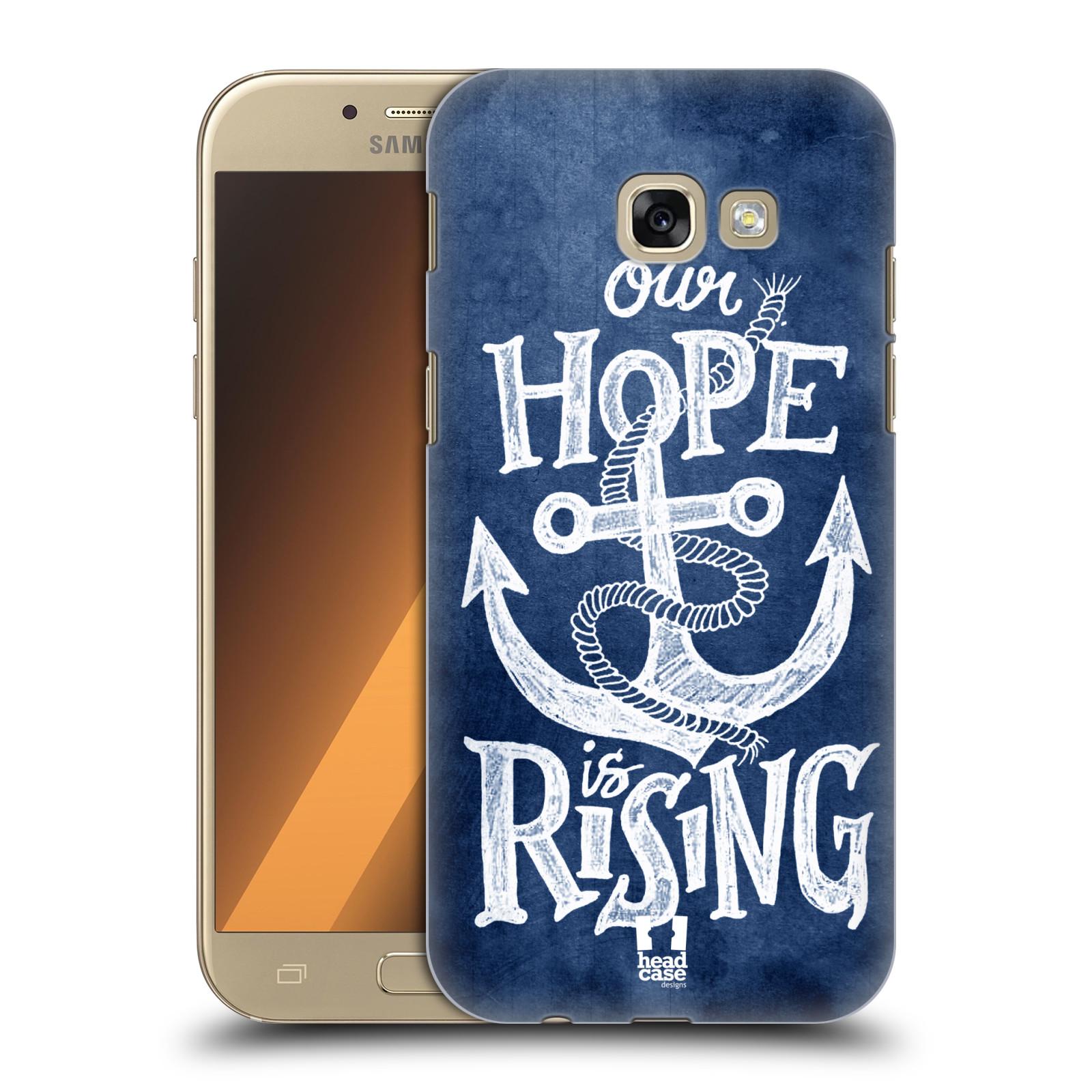 Plastové pouzdro na mobil Samsung Galaxy A5 (2017) HEAD CASE KOTVA RISING
