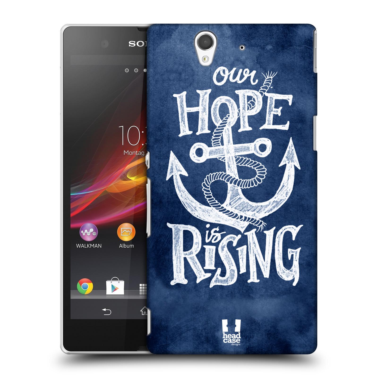 Plastové pouzdro na mobil Sony Xperia Z C6603 HEAD CASE KOTVA RISING