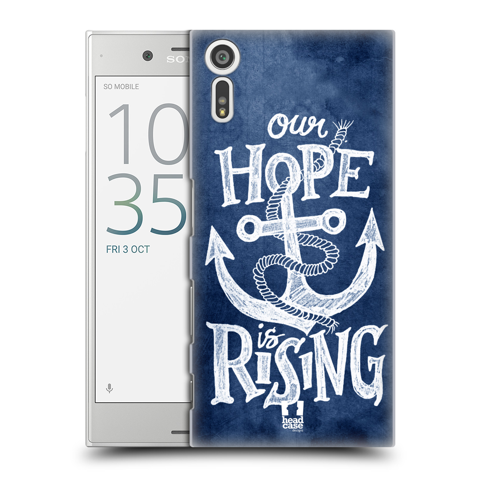 Plastové pouzdro na mobil Sony Xperia XZ - Head Case KOTVA RISING