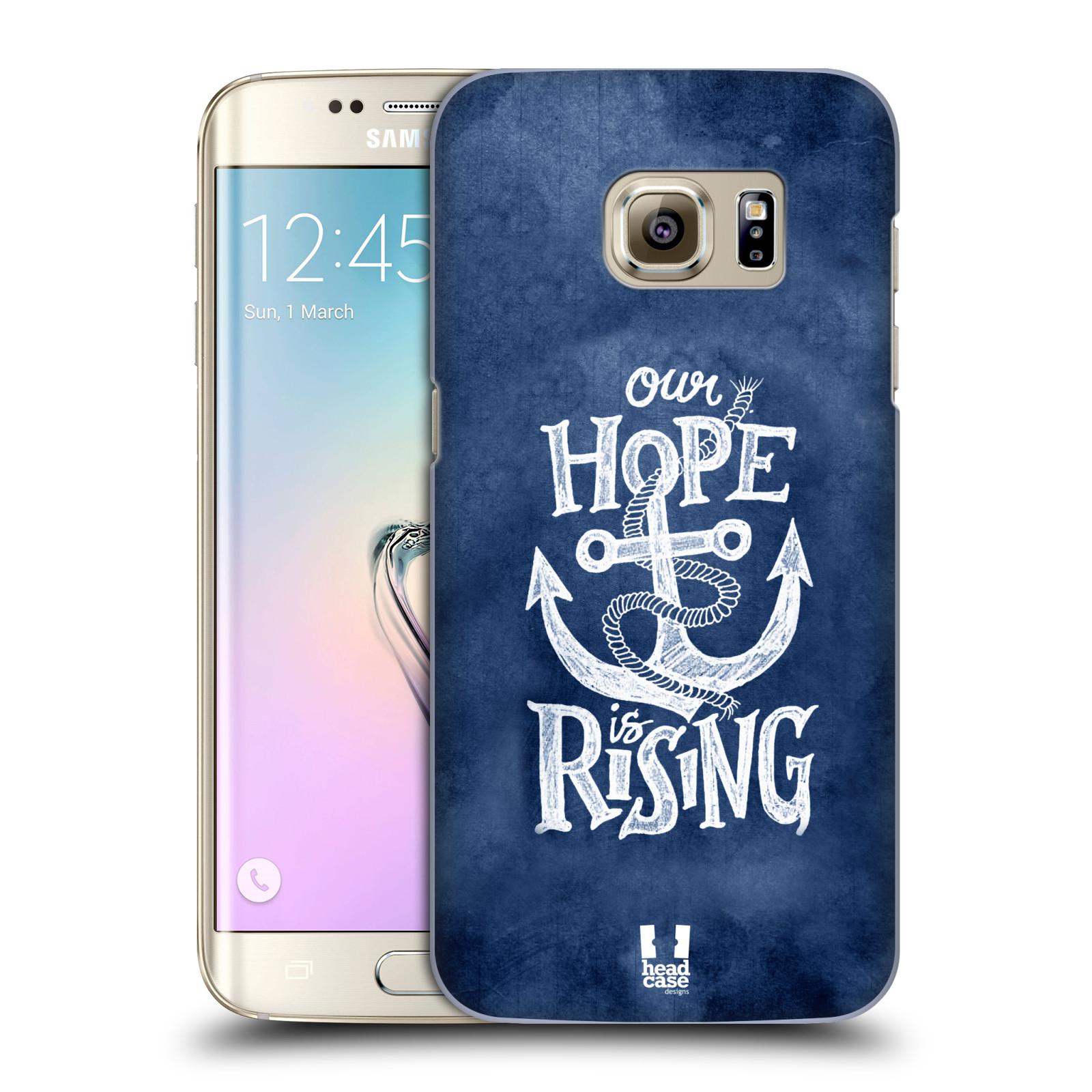 Plastové pouzdro na mobil Samsung Galaxy S7 Edge HEAD CASE KOTVA RISING