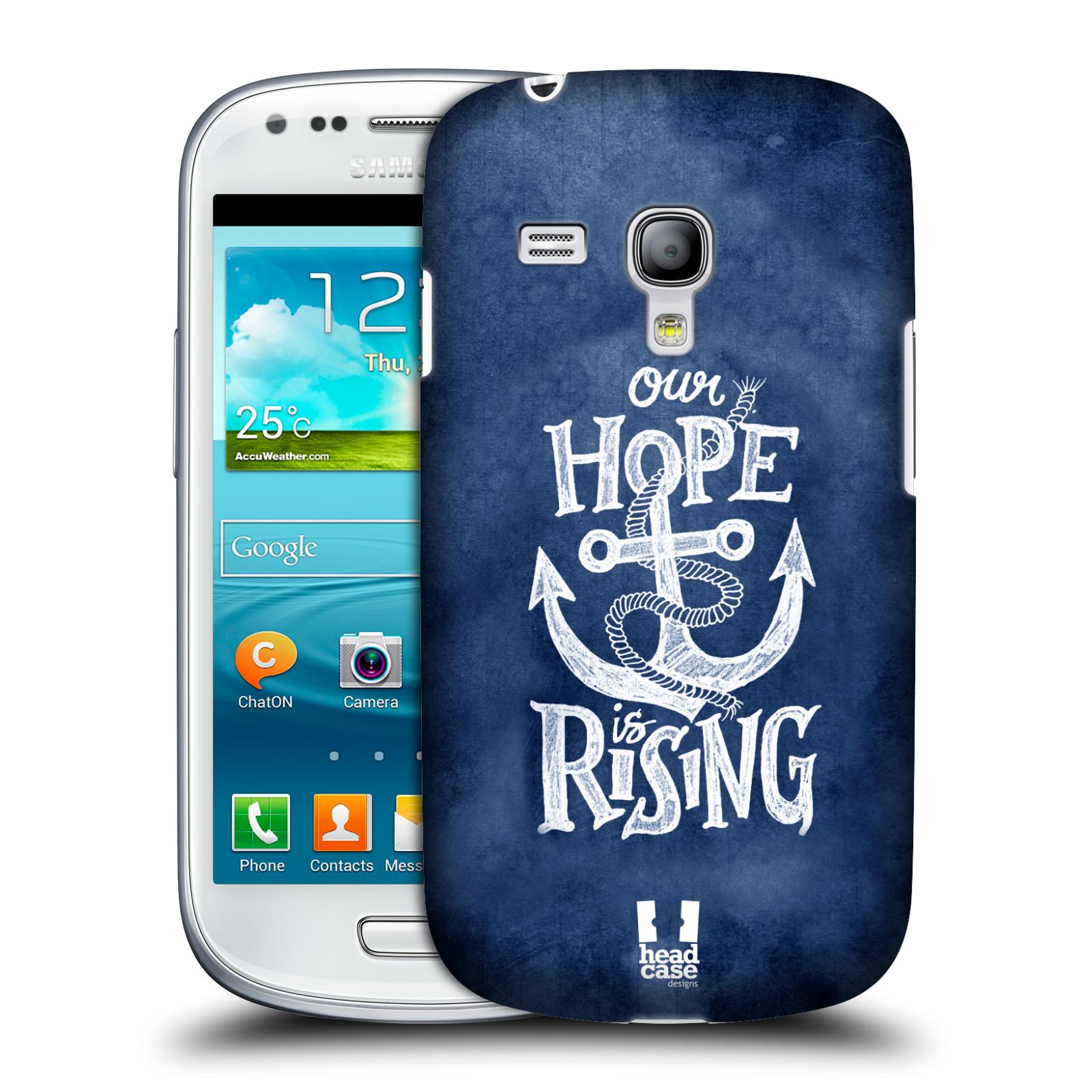 Plastové pouzdro na mobil Samsung Galaxy S3 Mini VE HEAD CASE KOTVA RISING (Kryt či obal na mobilní telefon Samsung Galaxy S3 Mini VE GT-i8200)