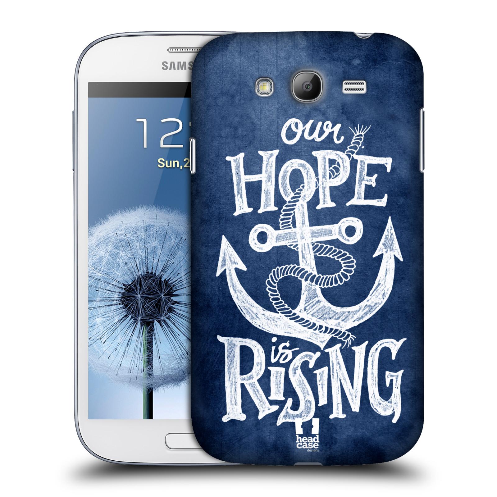 Plastové pouzdro na mobil Samsung Galaxy Grand Neo Plus HEAD CASE KOTVA RISING