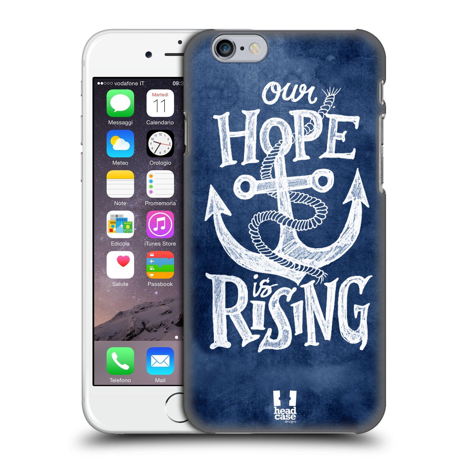 Plastové pouzdro na mobil Apple iPhone 6 a 6S HEAD CASE KOTVA RISING