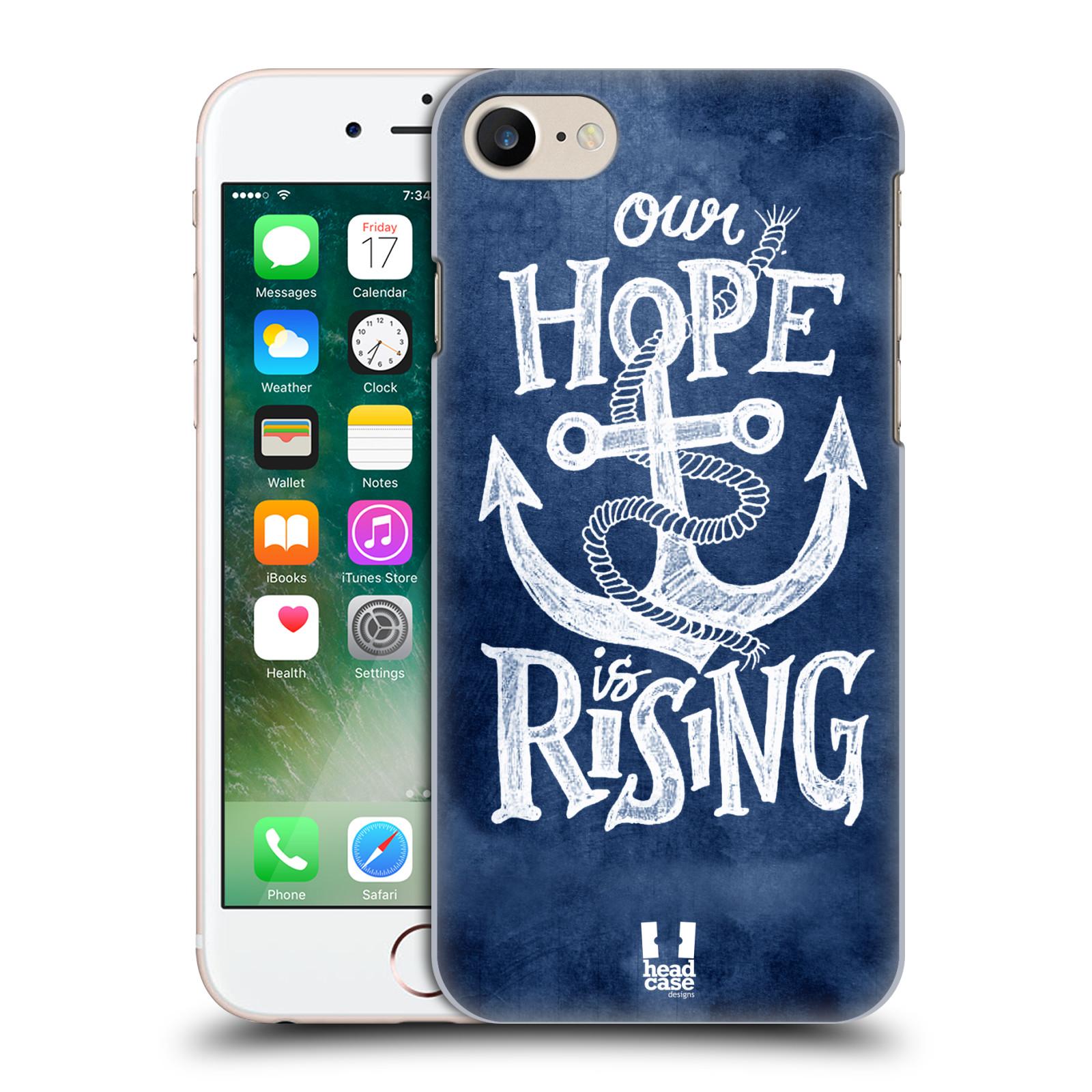 Plastové pouzdro na mobil Apple iPhone 7 HEAD CASE KOTVA RISING