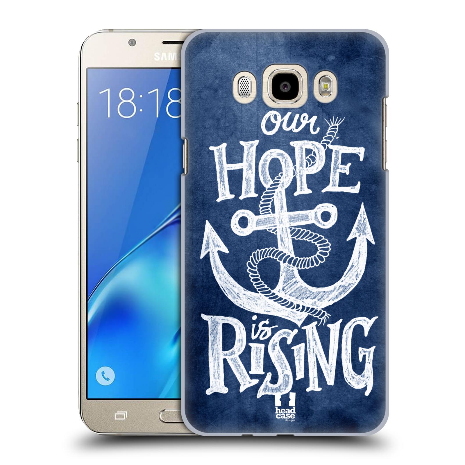 Plastové pouzdro na mobil Samsung Galaxy J7 (2016) HEAD CASE KOTVA RISING