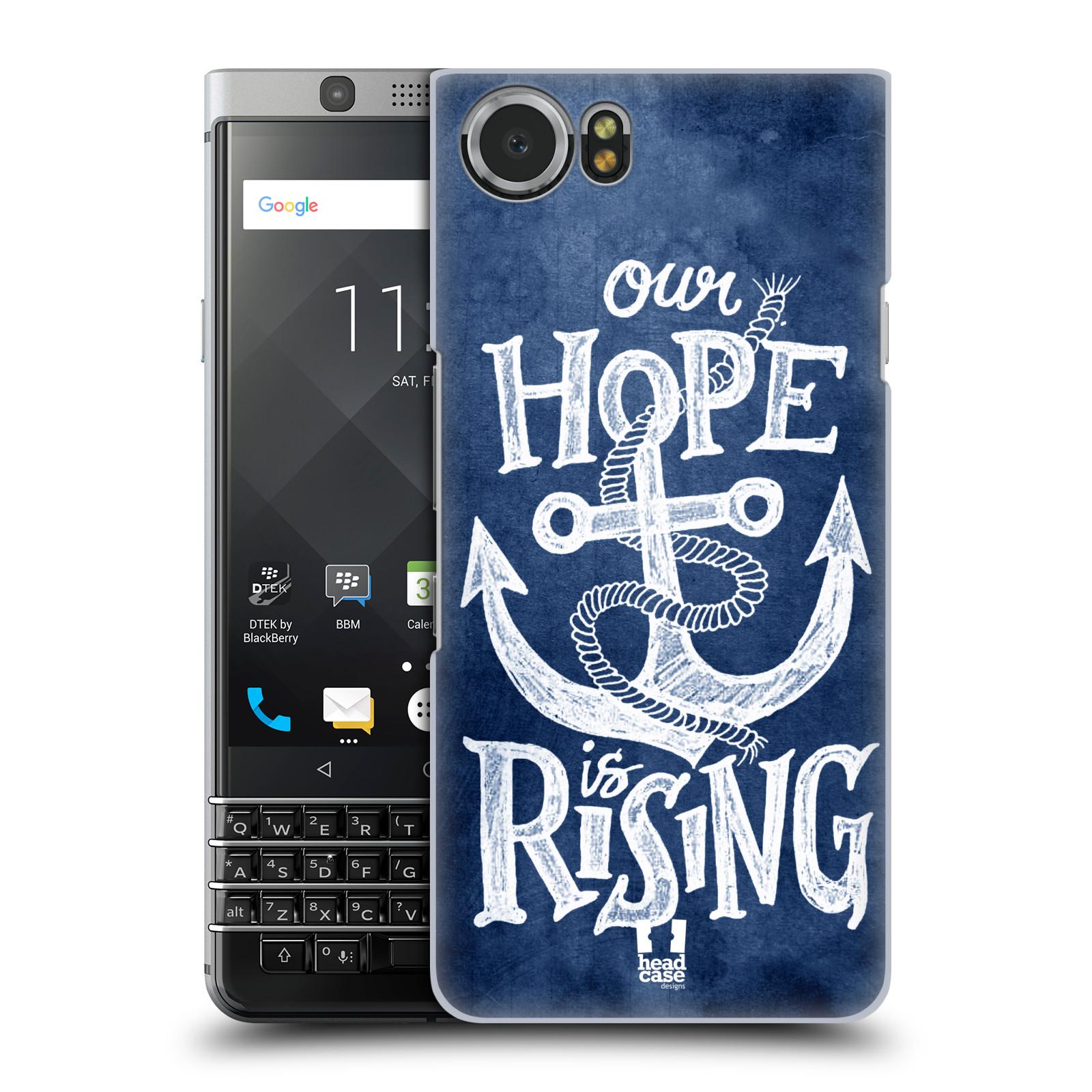 Plastové pouzdro na mobil BlackBerry KEYone - Head Case - KOTVA RISING