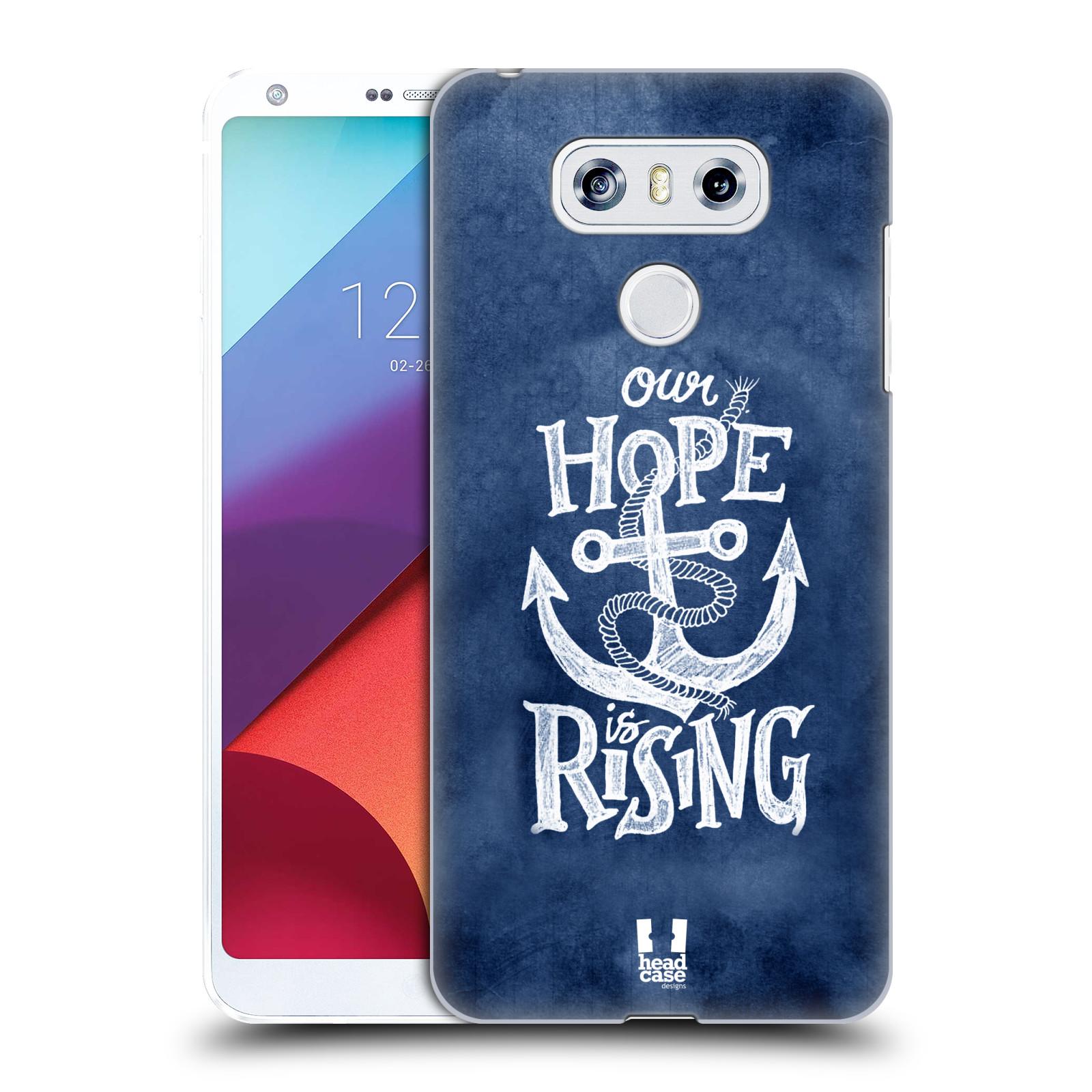 Plastové pouzdro na mobil LG G6 - Head Case KOTVA RISING