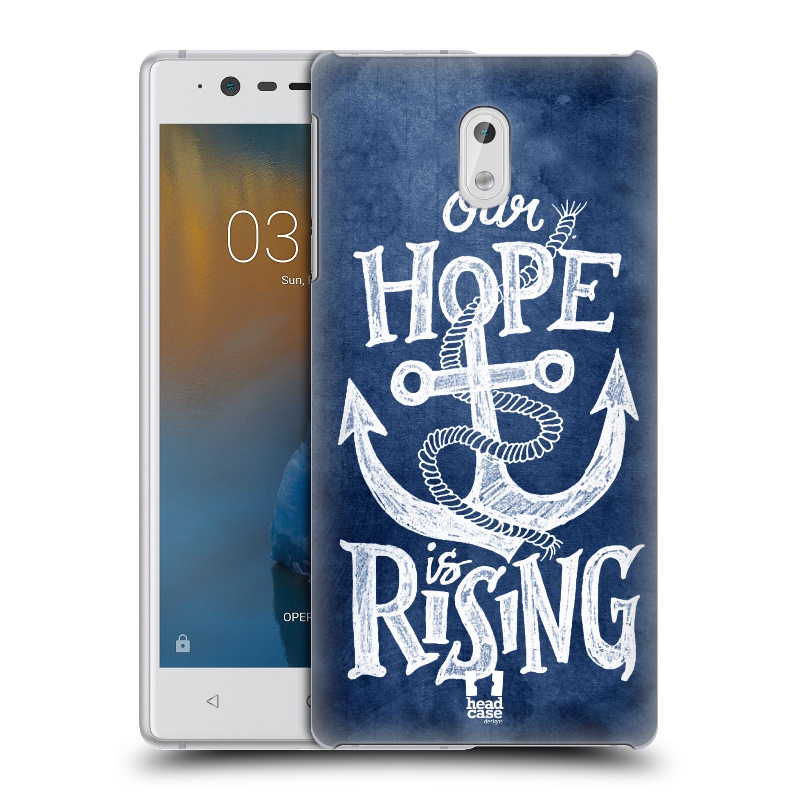 Plastové pouzdro na mobil Nokia 3 Head Case - KOTVA RISING