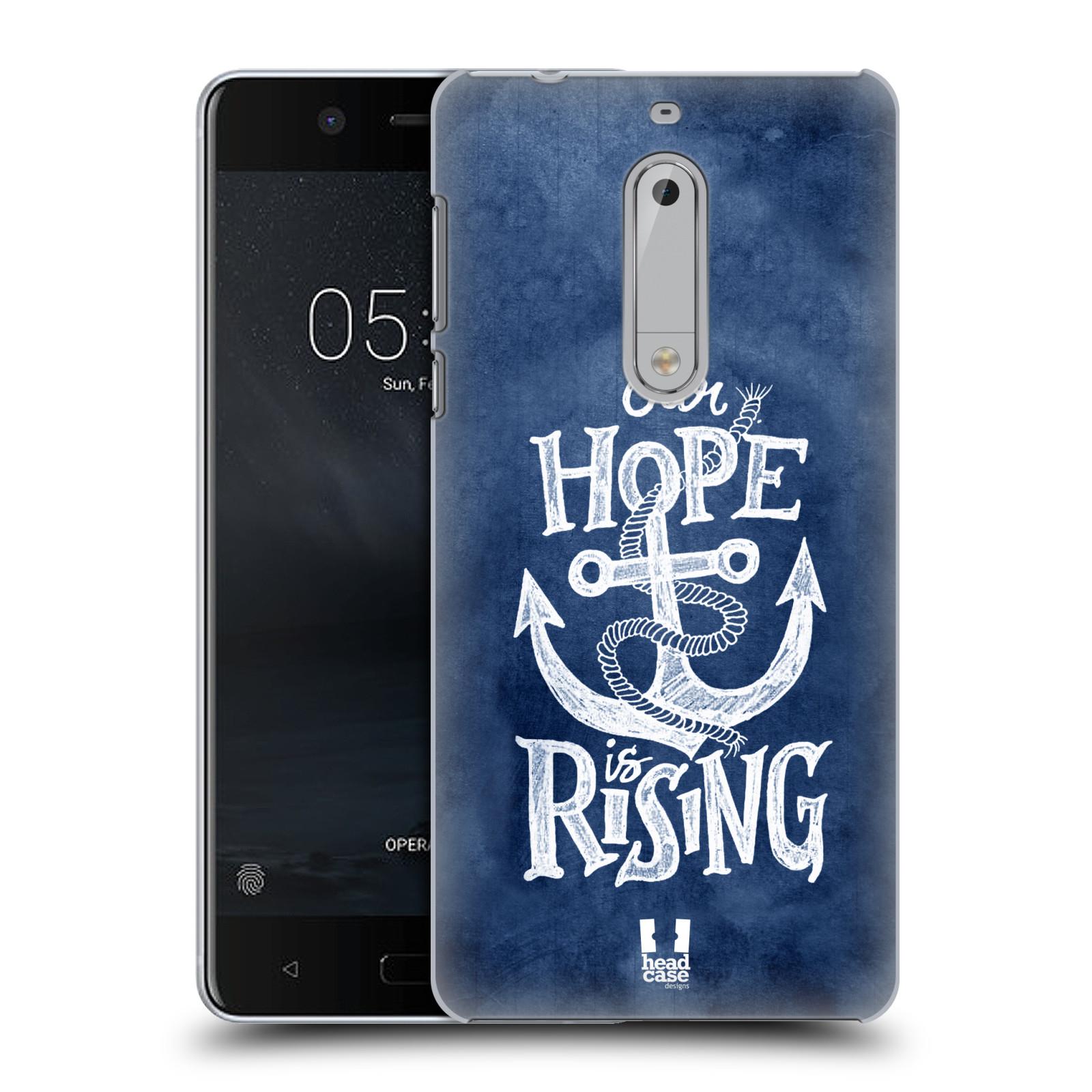 Plastové pouzdro na mobil Nokia 5 Head Case - KOTVA RISING