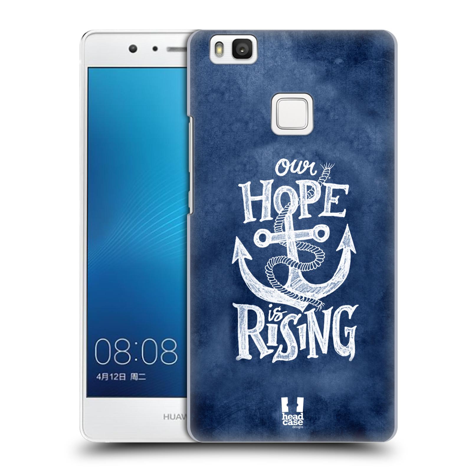 Plastové pouzdro na mobil Huawei P9 Lite HEAD CASE KOTVA RISING