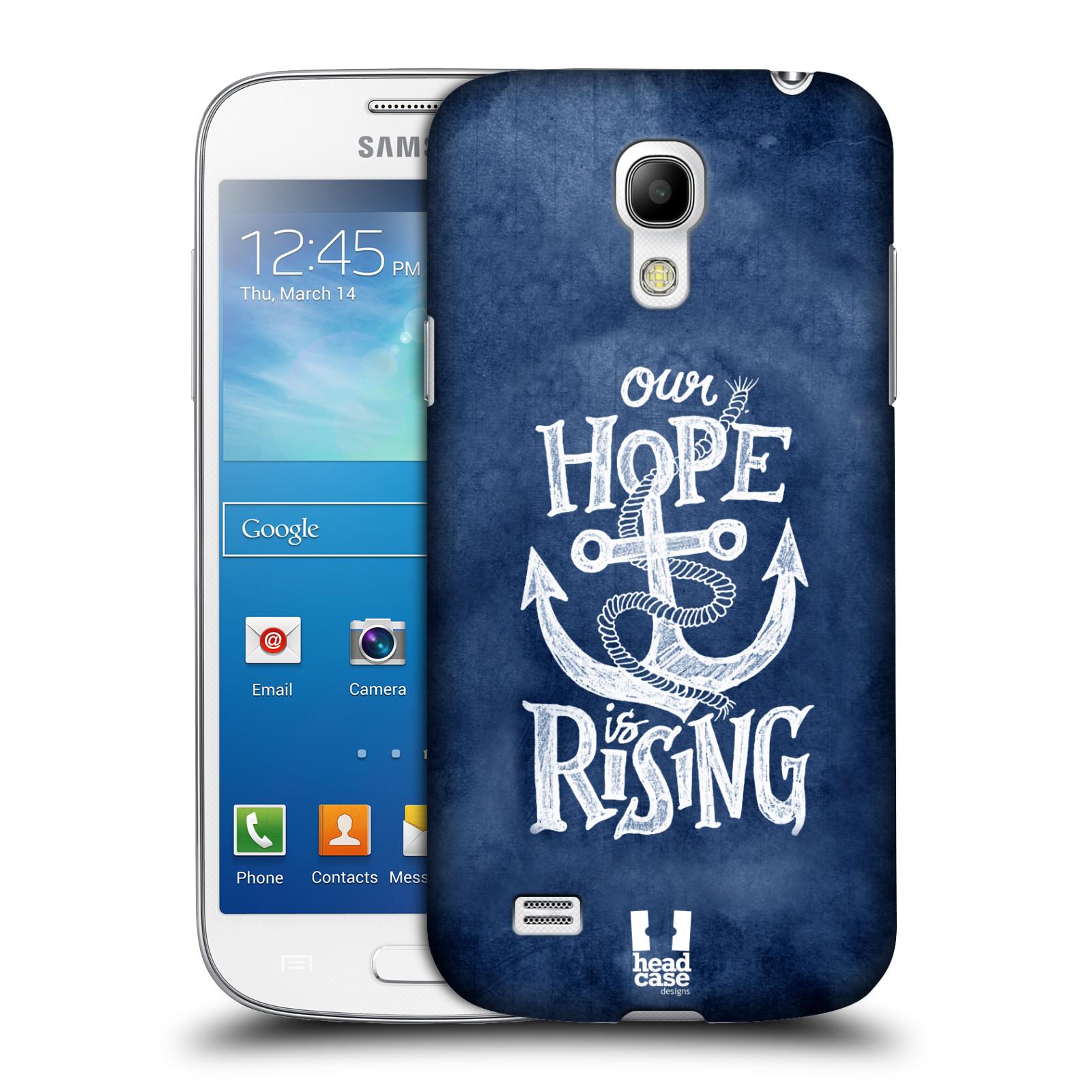 Plastové pouzdro na mobil Samsung Galaxy S4 Mini VE HEAD CASE KOTVA RISING