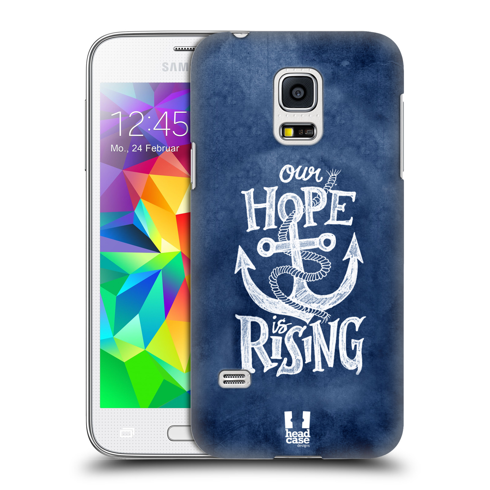 Plastové pouzdro na mobil Samsung Galaxy S5 Mini HEAD CASE KOTVA RISING