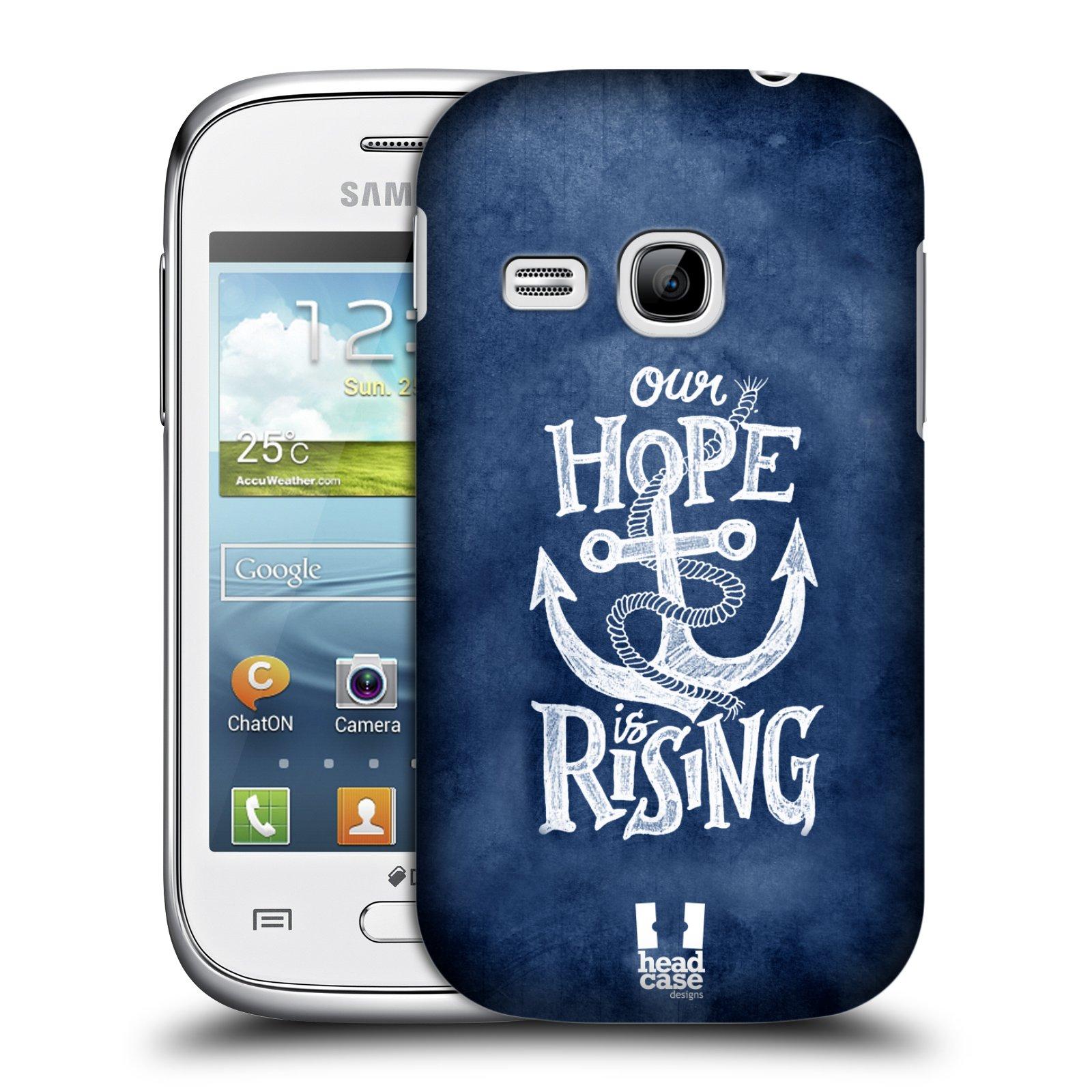 Plastové pouzdro na mobil Samsung Galaxy Young HEAD CASE KOTVA RISING (Kryt či obal na mobilní telefon Samsung Galaxy Young GT-S6310)