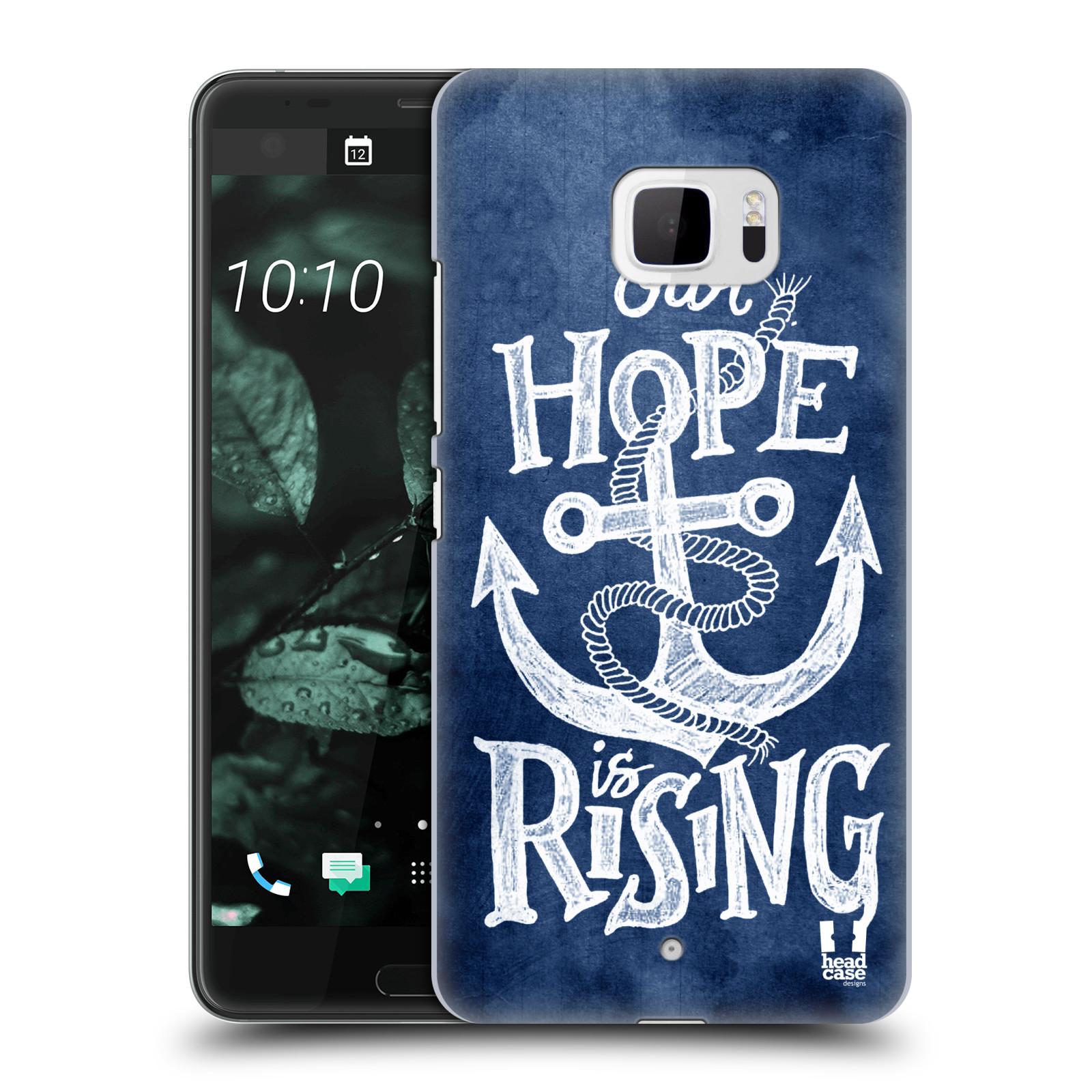 Plastové pouzdro na mobil HTC U Ultra Head Case - KOTVA RISING (Plastový kryt či obal na mobilní telefon HTC U Ultra (99HALT015-00))
