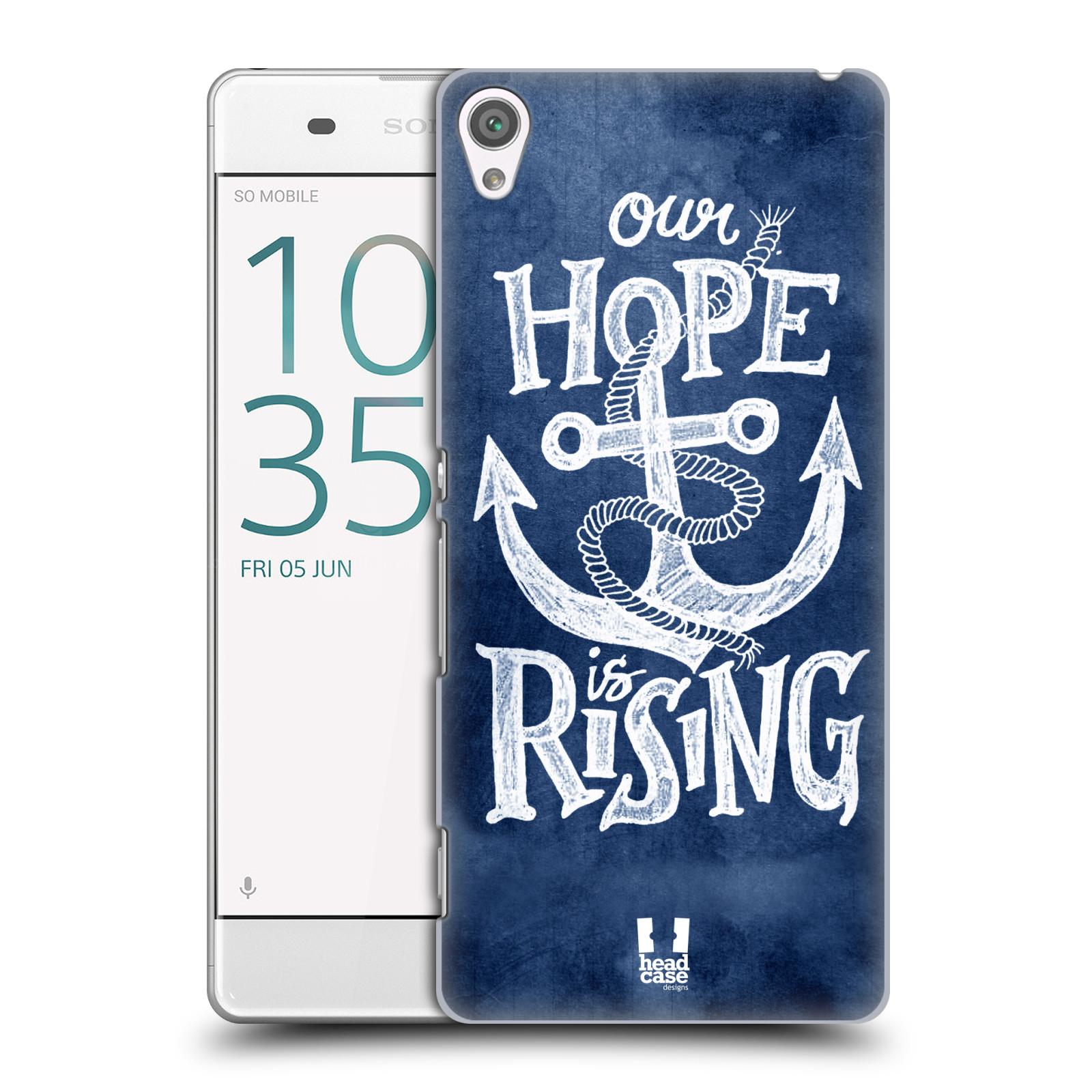Plastové pouzdro na mobil Sony Xperia XA HEAD CASE KOTVA RISING