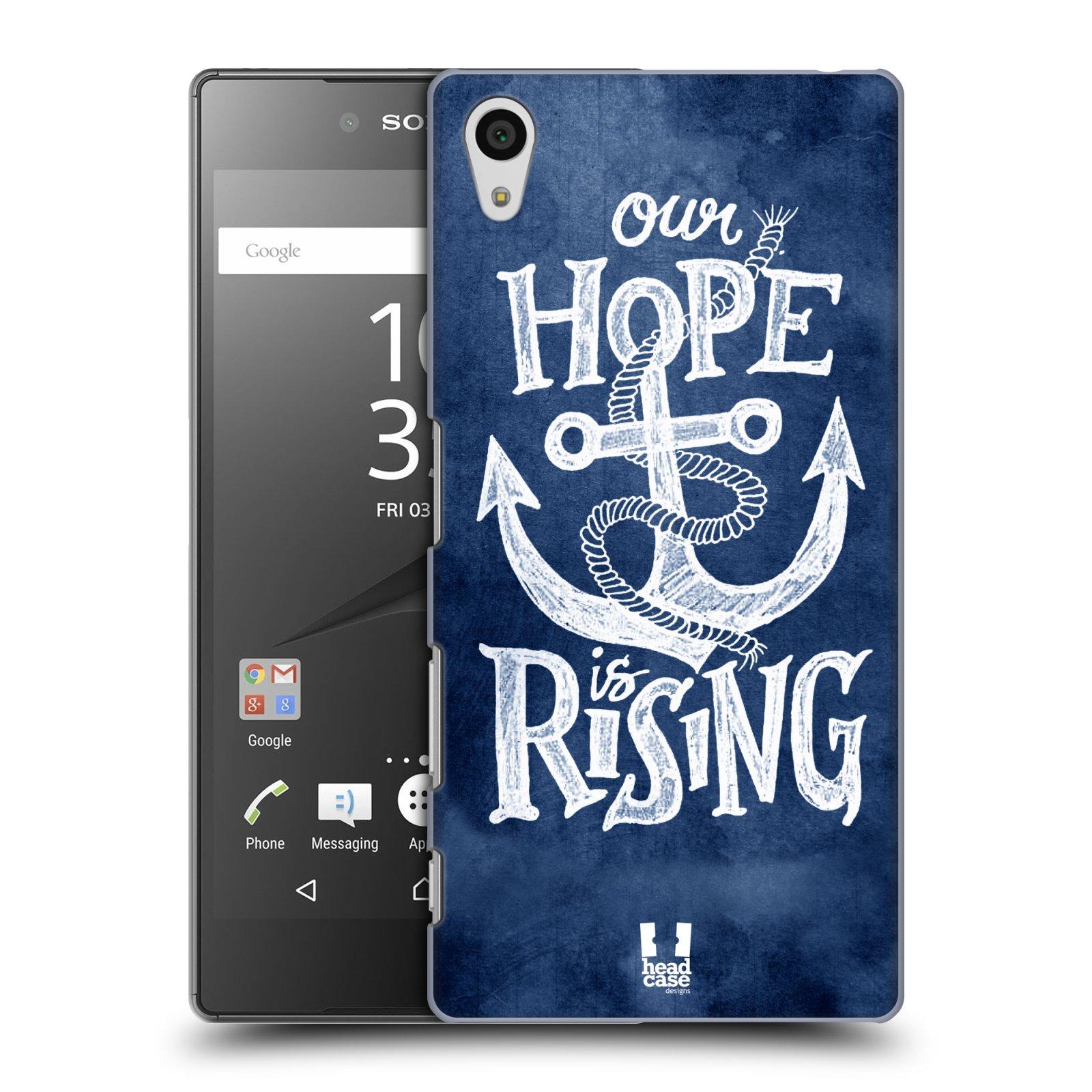 Plastové pouzdro na mobil Sony Xperia Z5 HEAD CASE KOTVA RISING