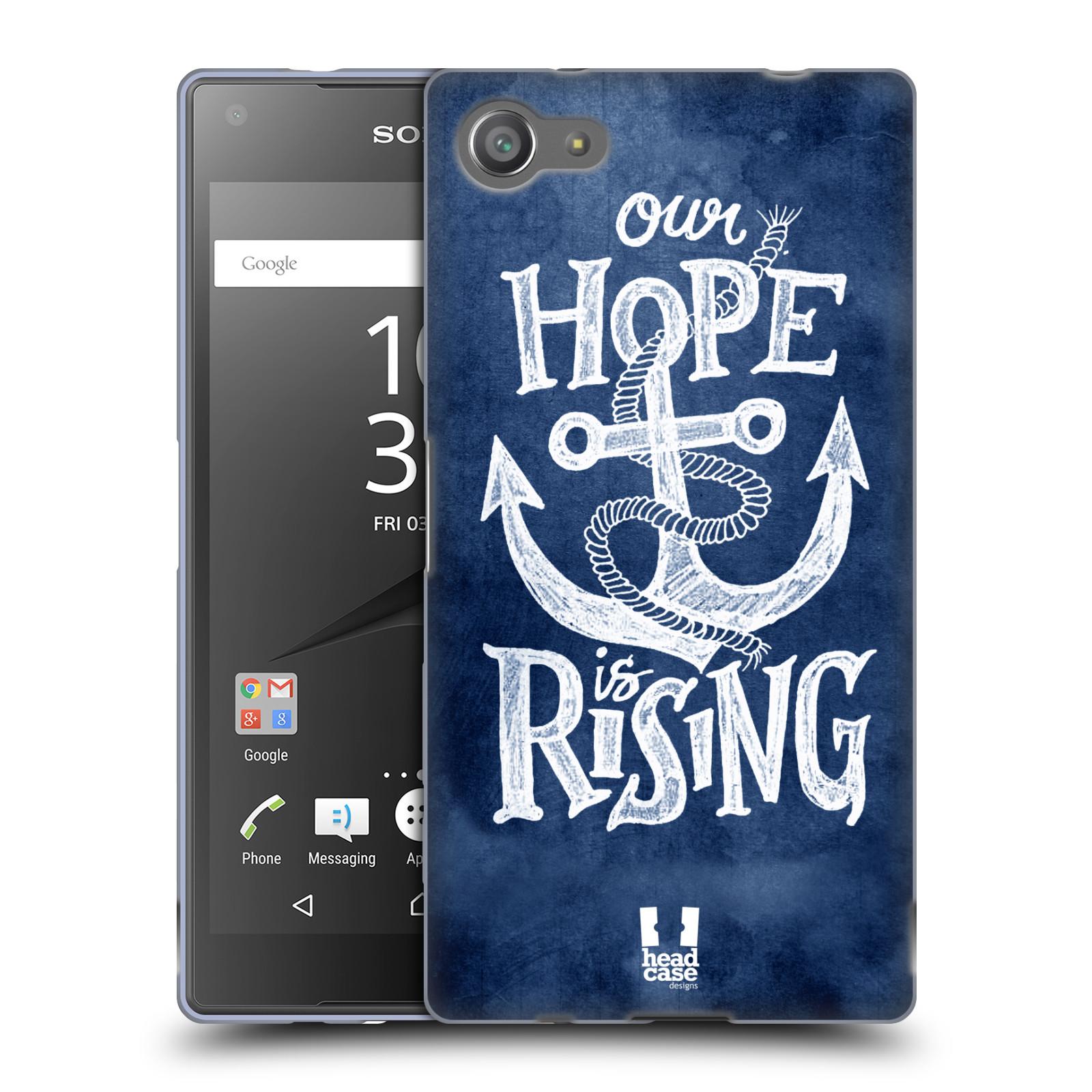 Silikonové pouzdro na mobil Sony Xperia Z5 Compact HEAD CASE KOTVA RISING