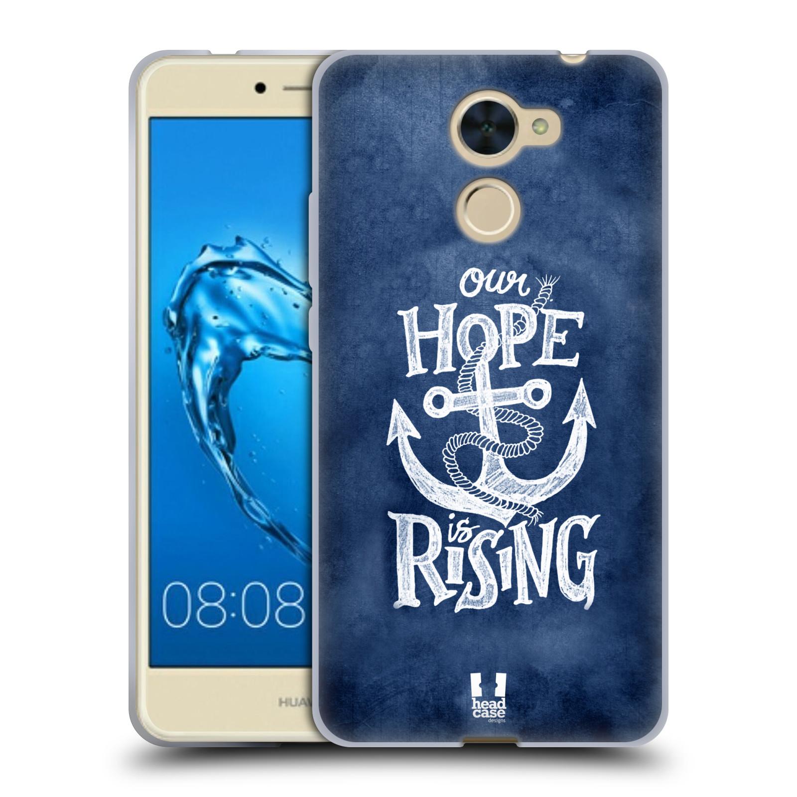 Silikonové pouzdro na mobil Huawei Y7 - Head Case - KOTVA RISING