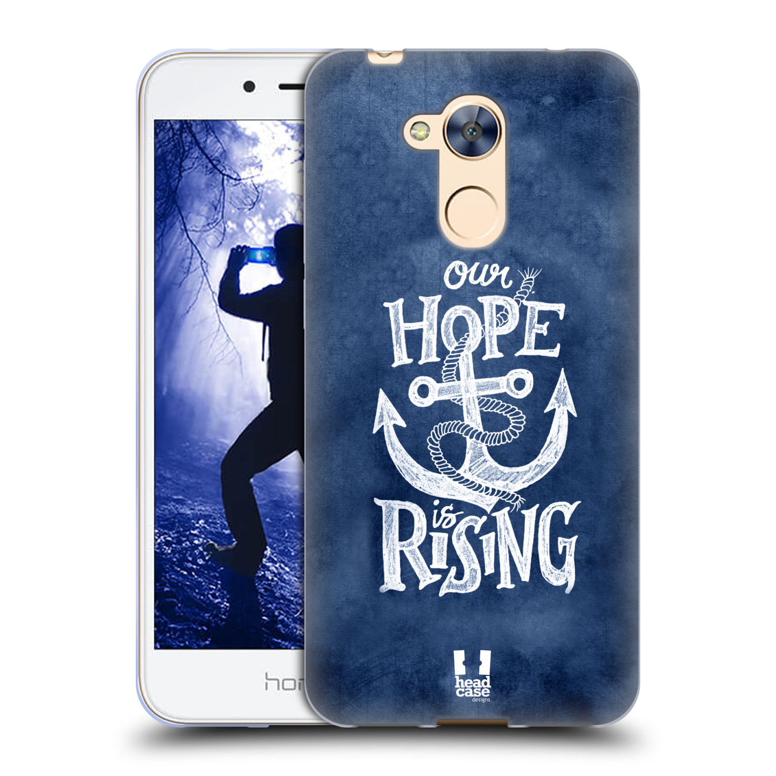 Silikonové pouzdro na mobil Honor 6A - Head Case - KOTVA RISING