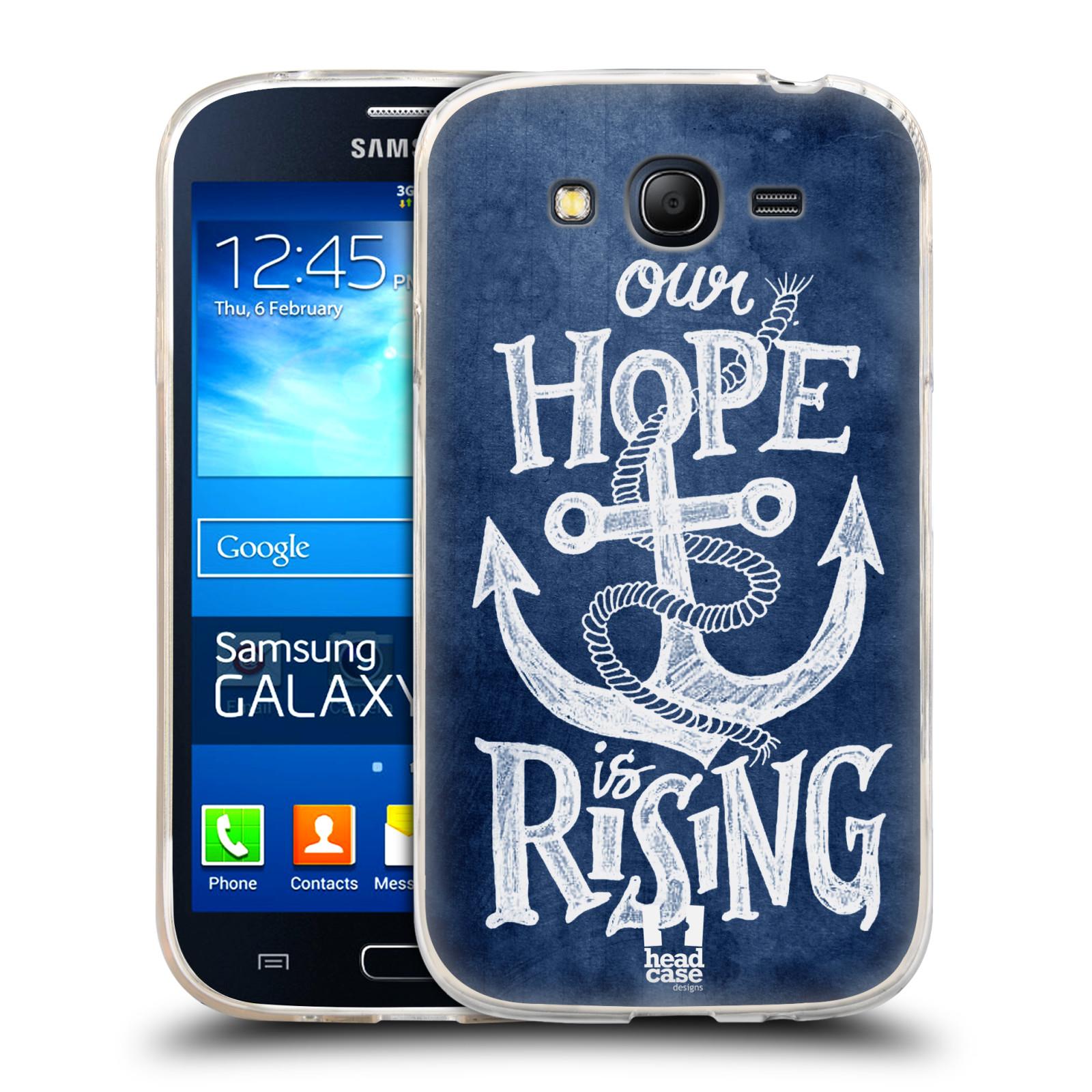 Silikonové pouzdro na mobil Samsung Galaxy Grand Neo HEAD CASE KOTVA RISING