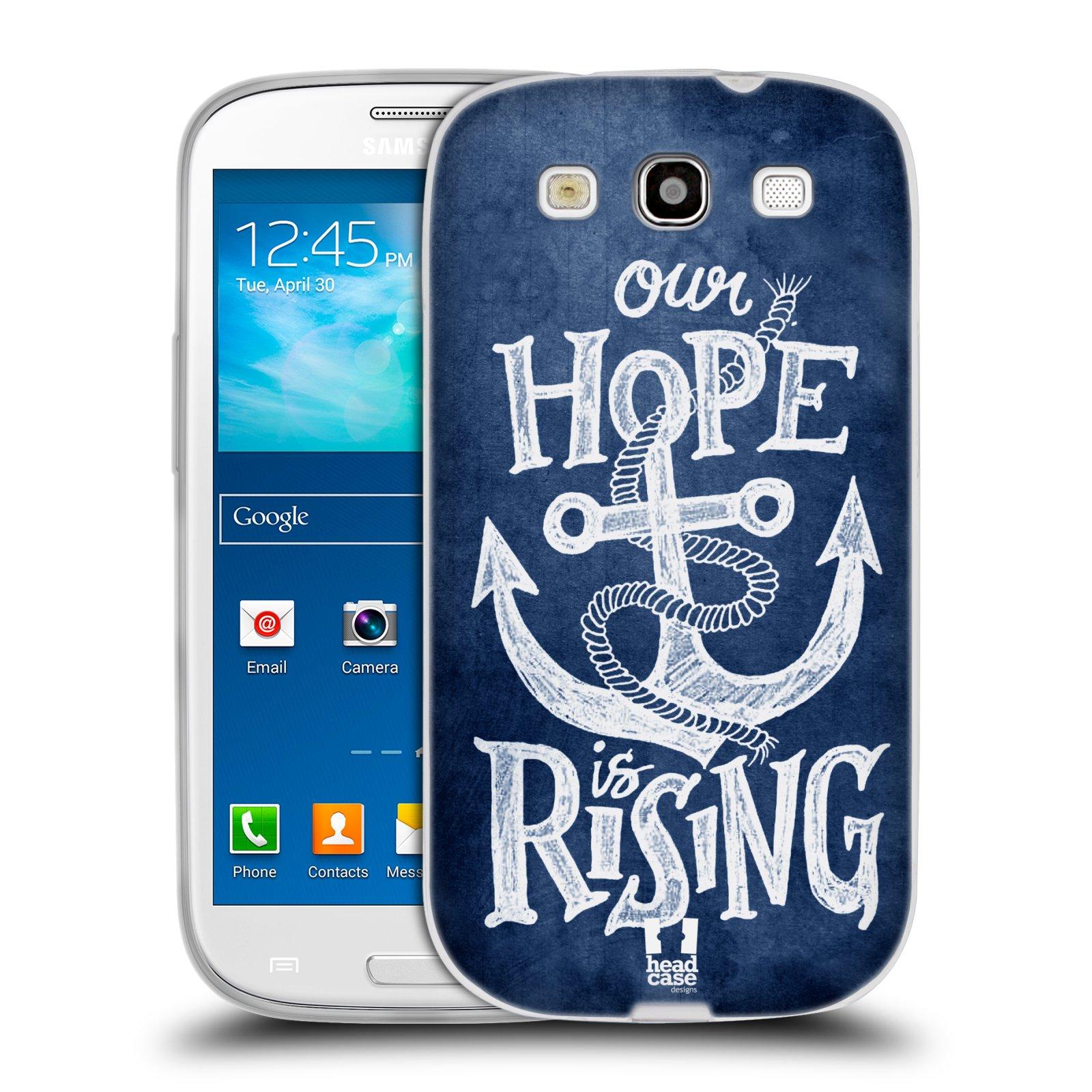 Silikonové pouzdro na mobil Samsung Galaxy S3 Neo HEAD CASE KOTVA RISING
