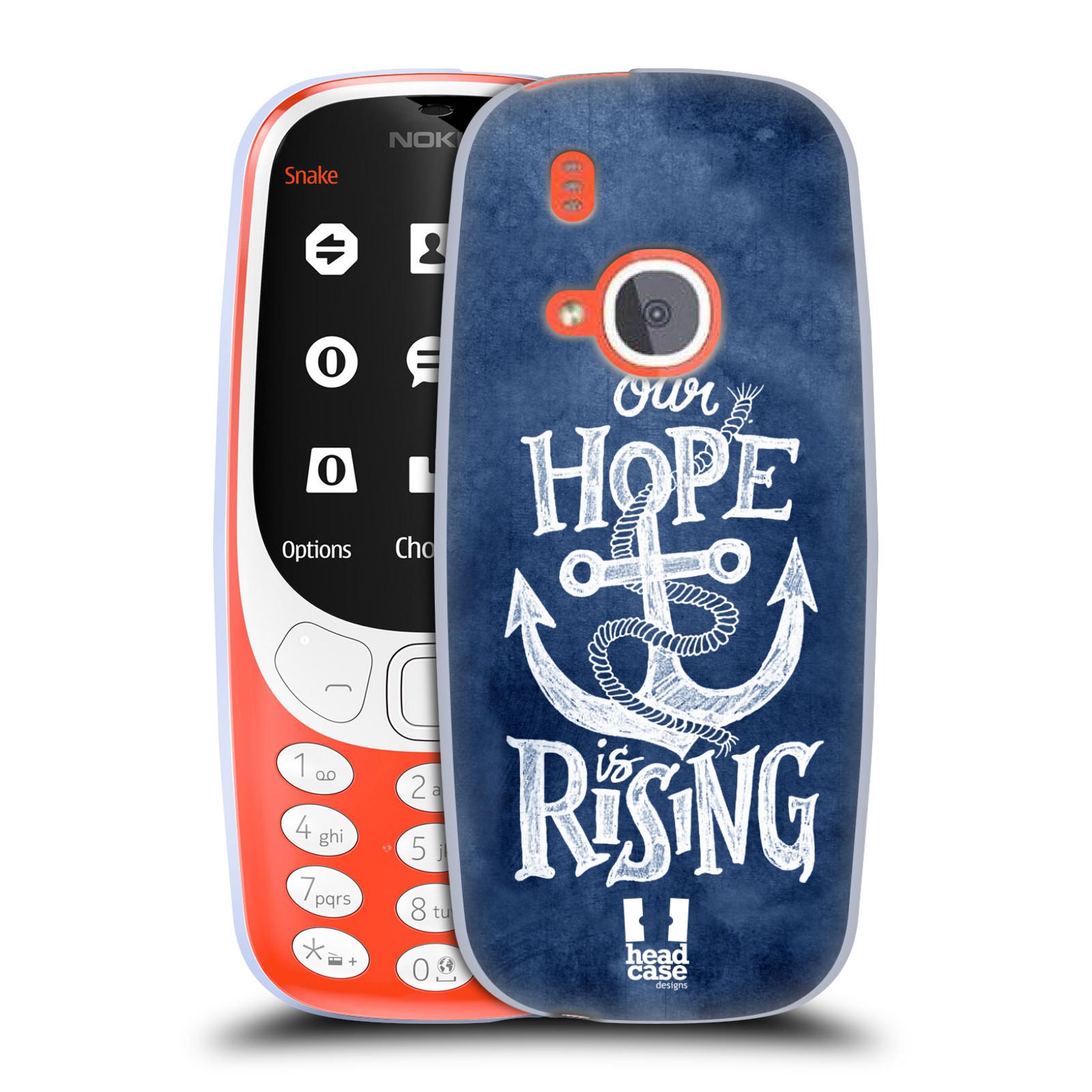 Silikonové pouzdro na mobil Nokia 3310 - Head Case - KOTVA RISING