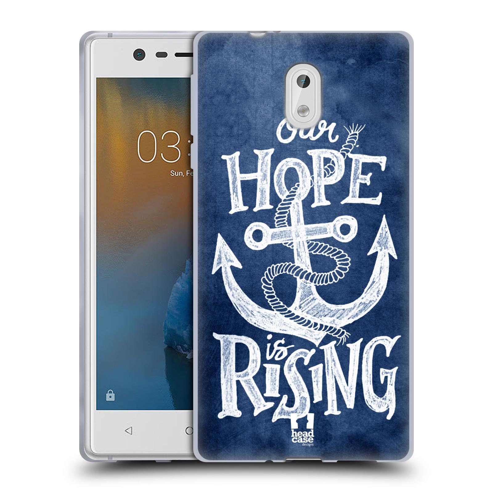 Silikonové pouzdro na mobil Nokia 3 Head Case - KOTVA RISING