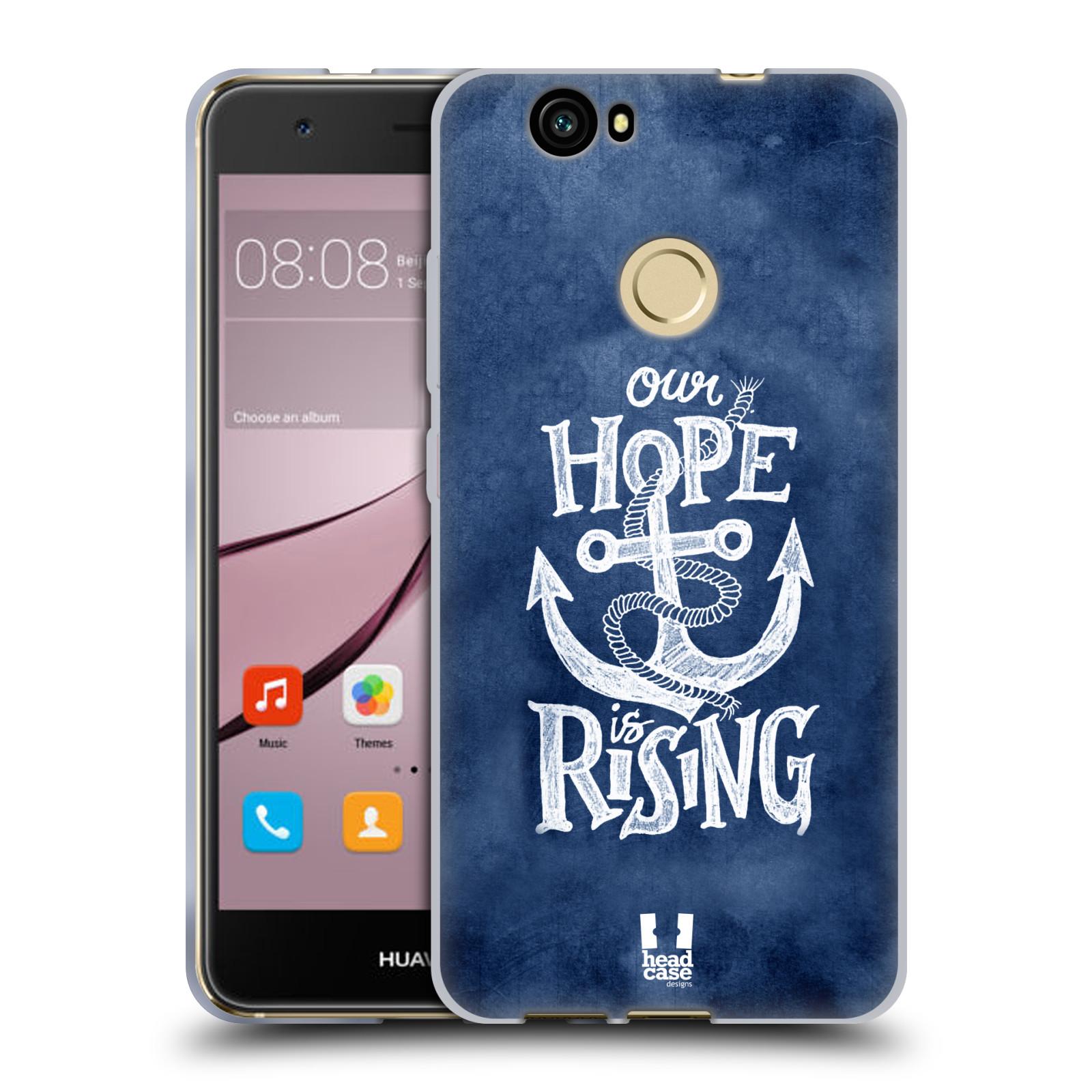 Silikonové pouzdro na mobil Huawei Nova - Head Case - KOTVA RISING