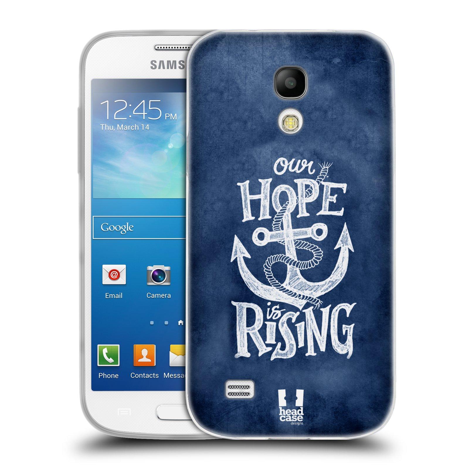 Silikonové pouzdro na mobil Samsung Galaxy S4 Mini HEAD CASE KOTVA RISING
