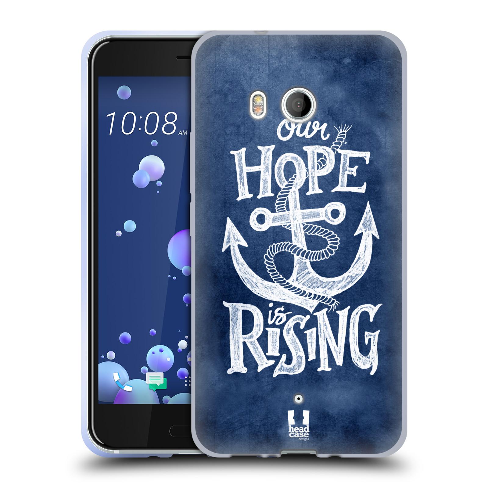 Silikonové pouzdro na mobil HTC U11 - Head Case - KOTVA RISING