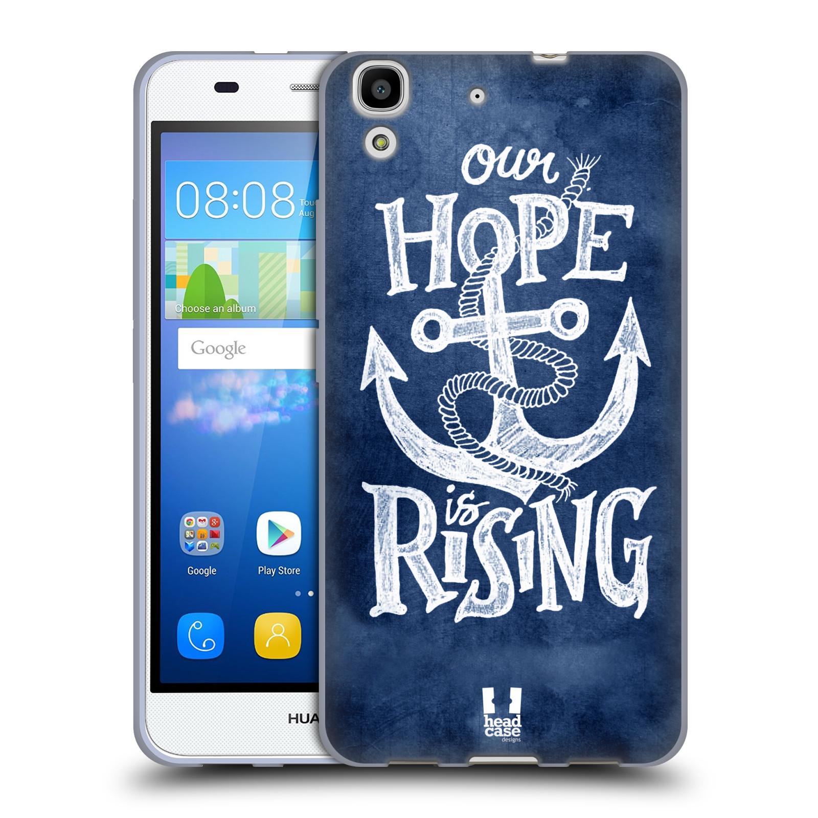 Silikonové pouzdro na mobil Huawei Y6 HEAD CASE KOTVA RISING