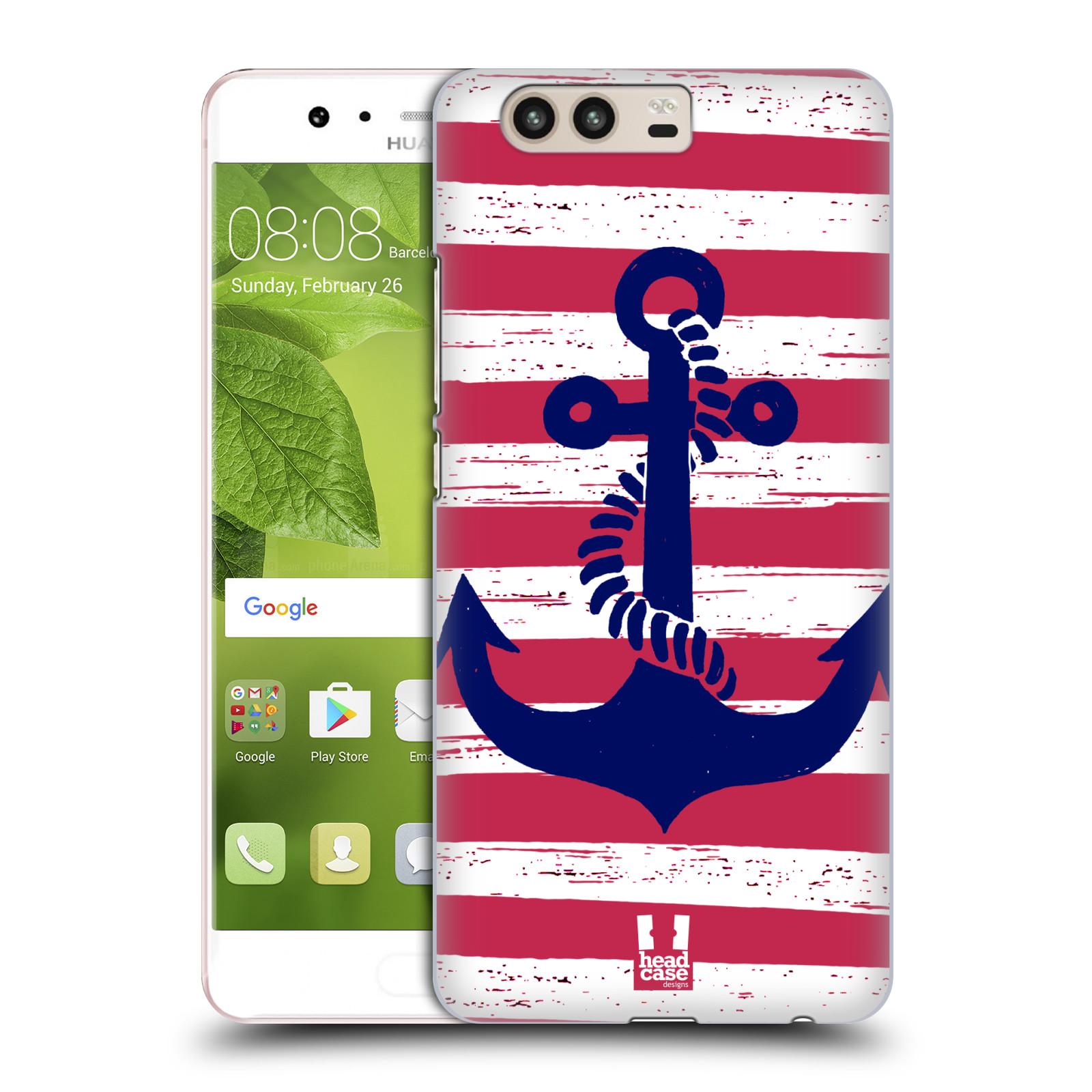 Plastové pouzdro na mobil Huawei P10 - Head Case KOTVA S PRUHY